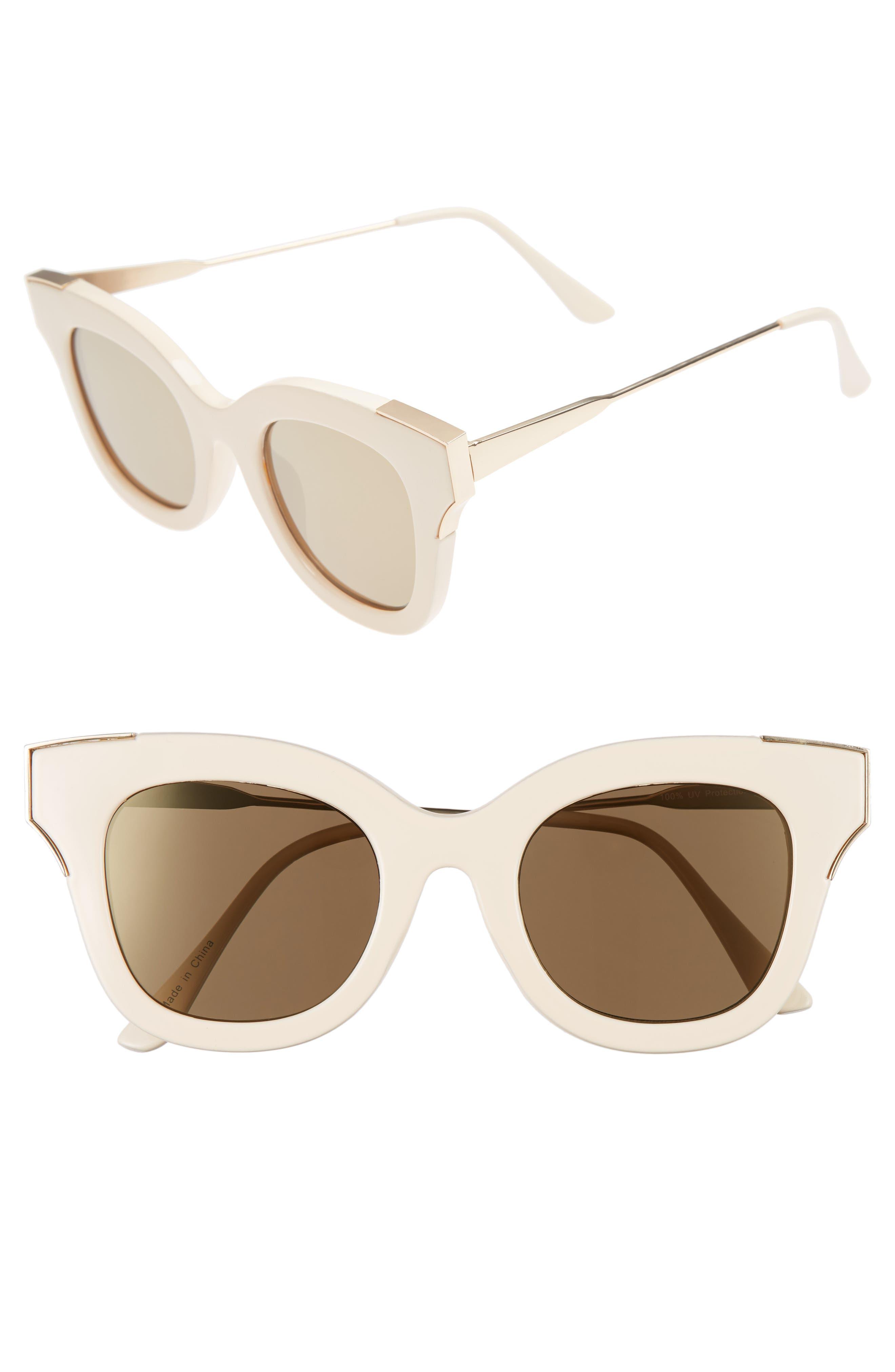 Main Image - BP. 50mm Cat Eye Sunglasses