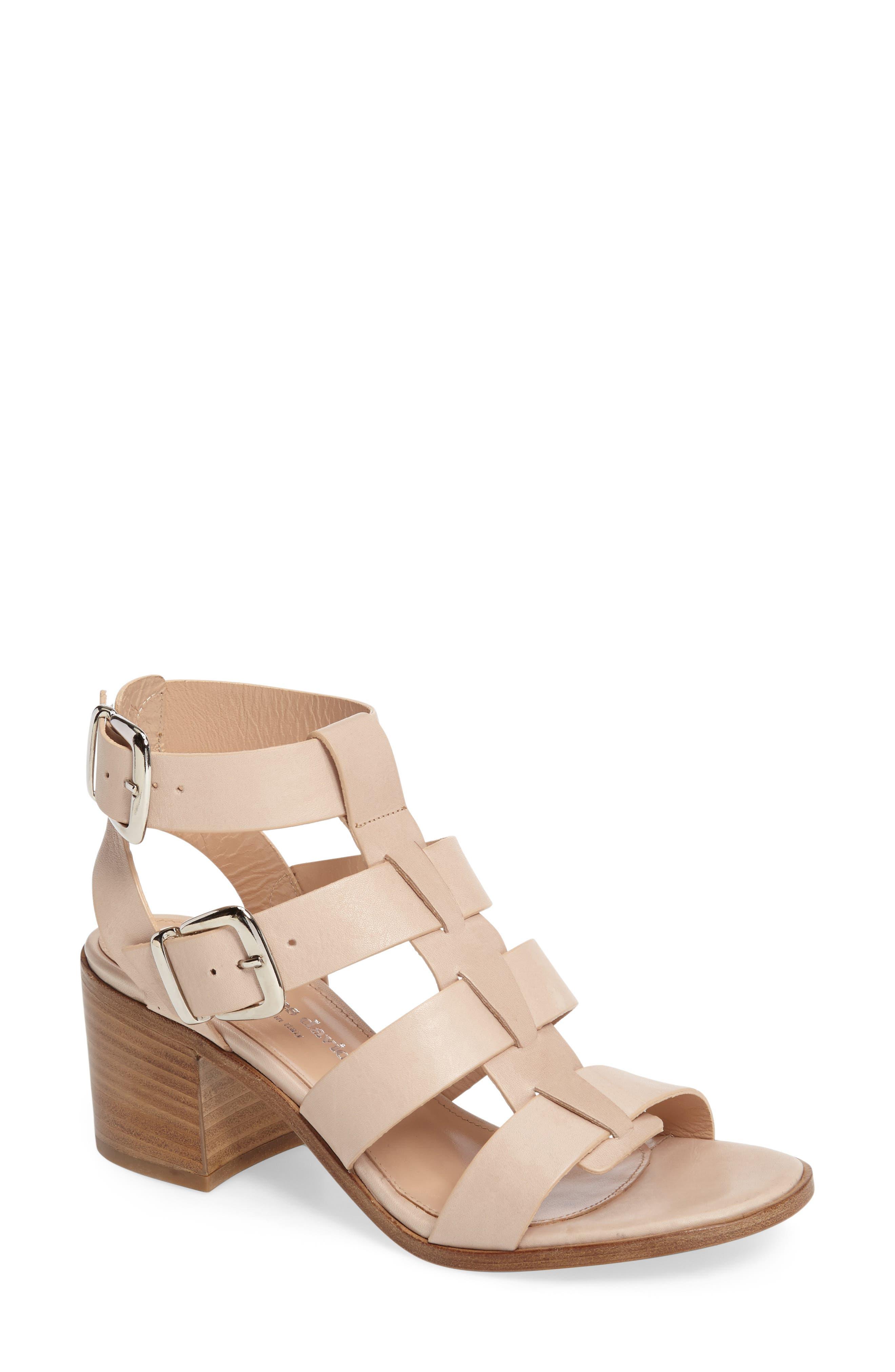 Charles David Bronson Block Heel Sandal (Women)