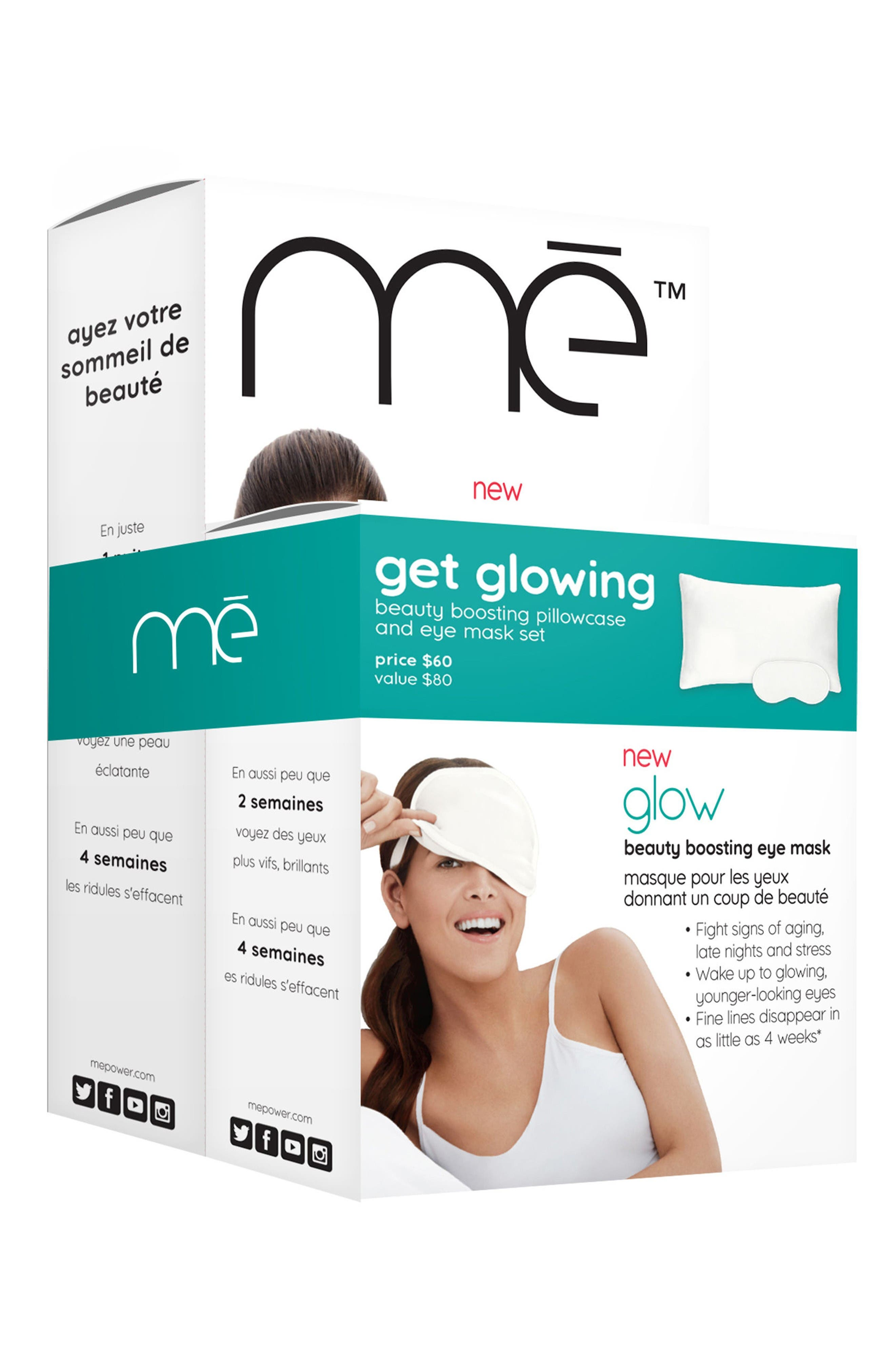 Glow Beauty Boosting Sleep Duo,                             Alternate thumbnail 2, color,                             No Color