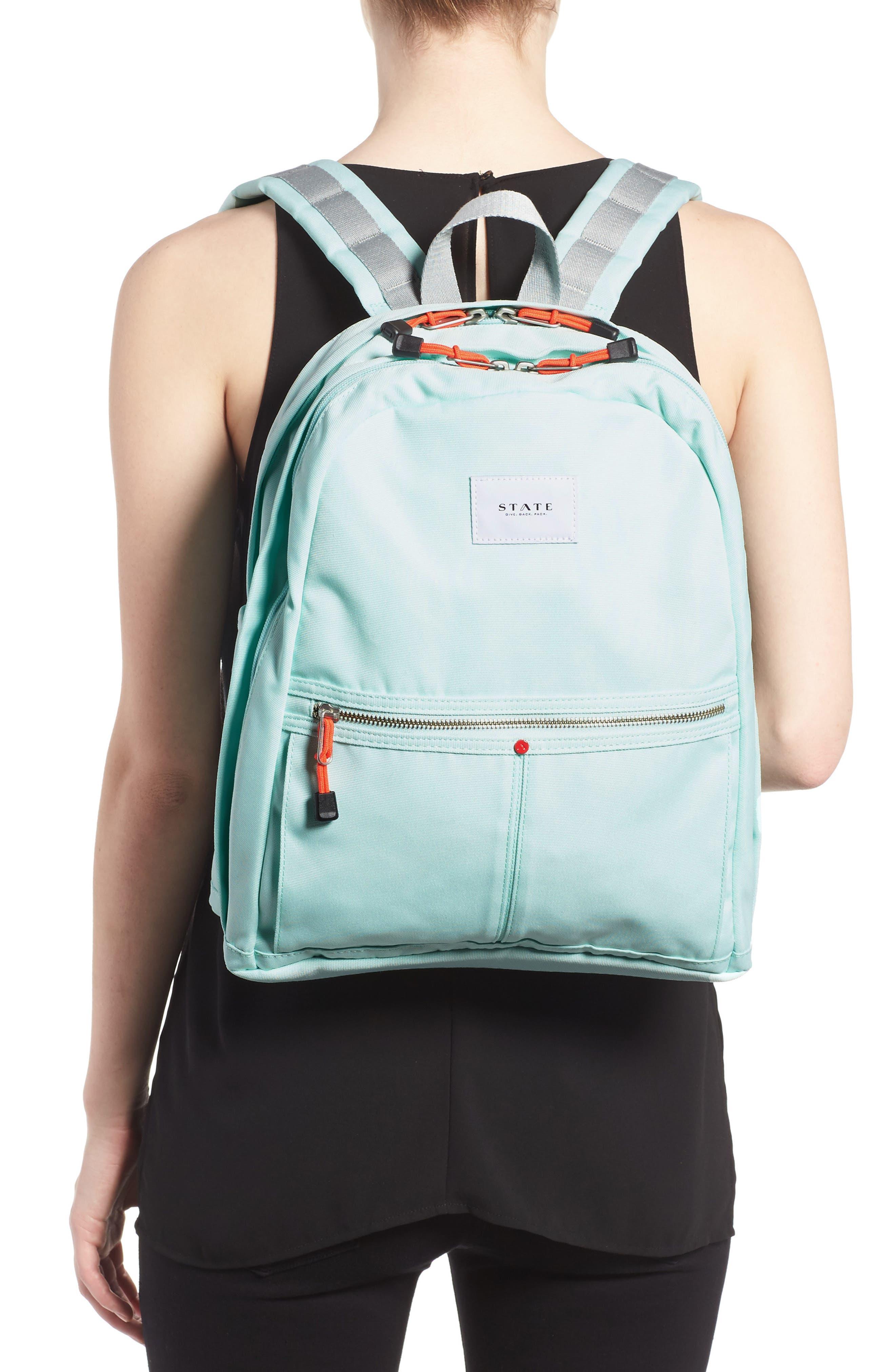 Kent Backpack,                             Alternate thumbnail 2, color,                             Honeydew