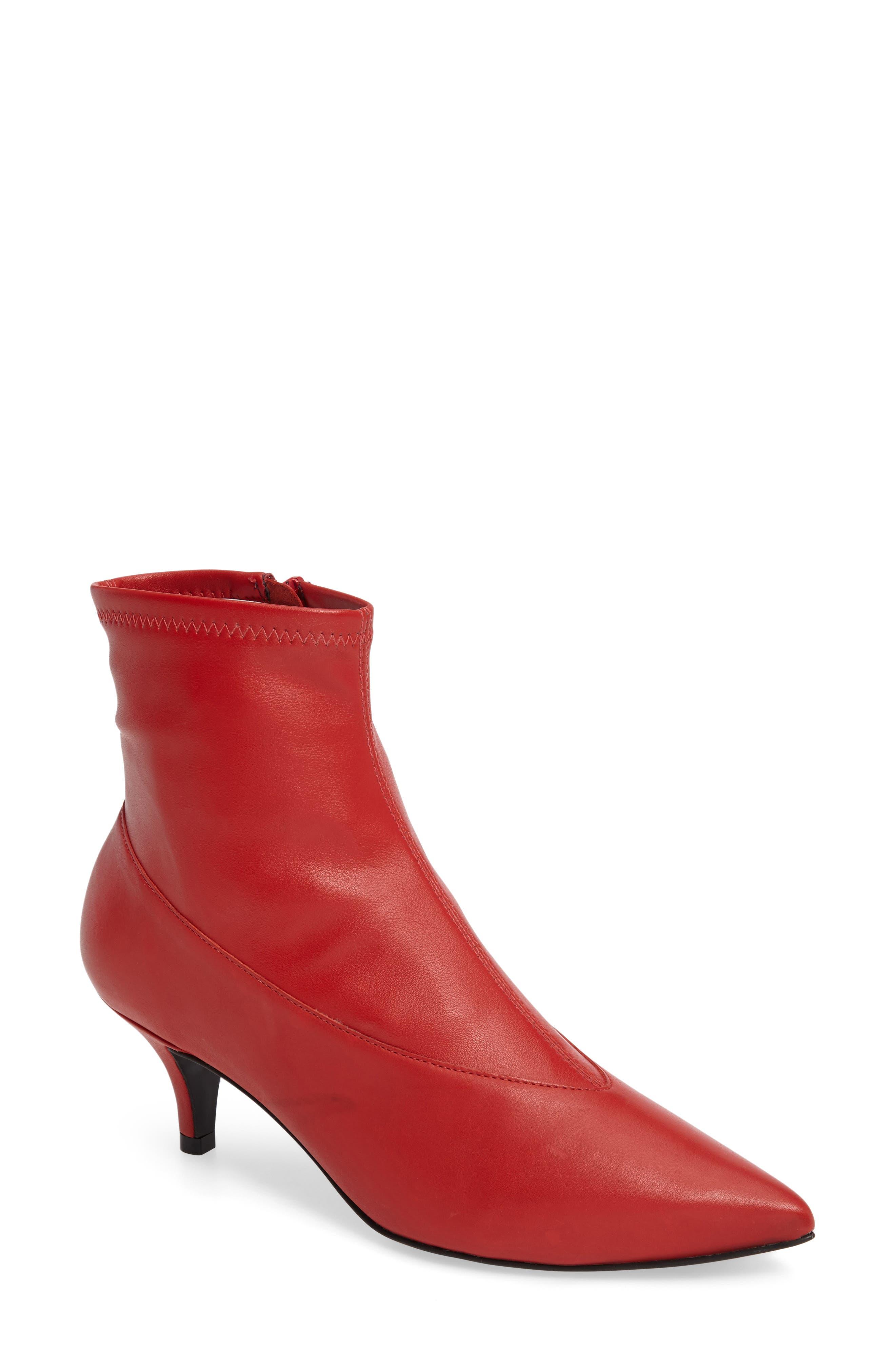 Topshop Malbec Sock Bootie (Women)