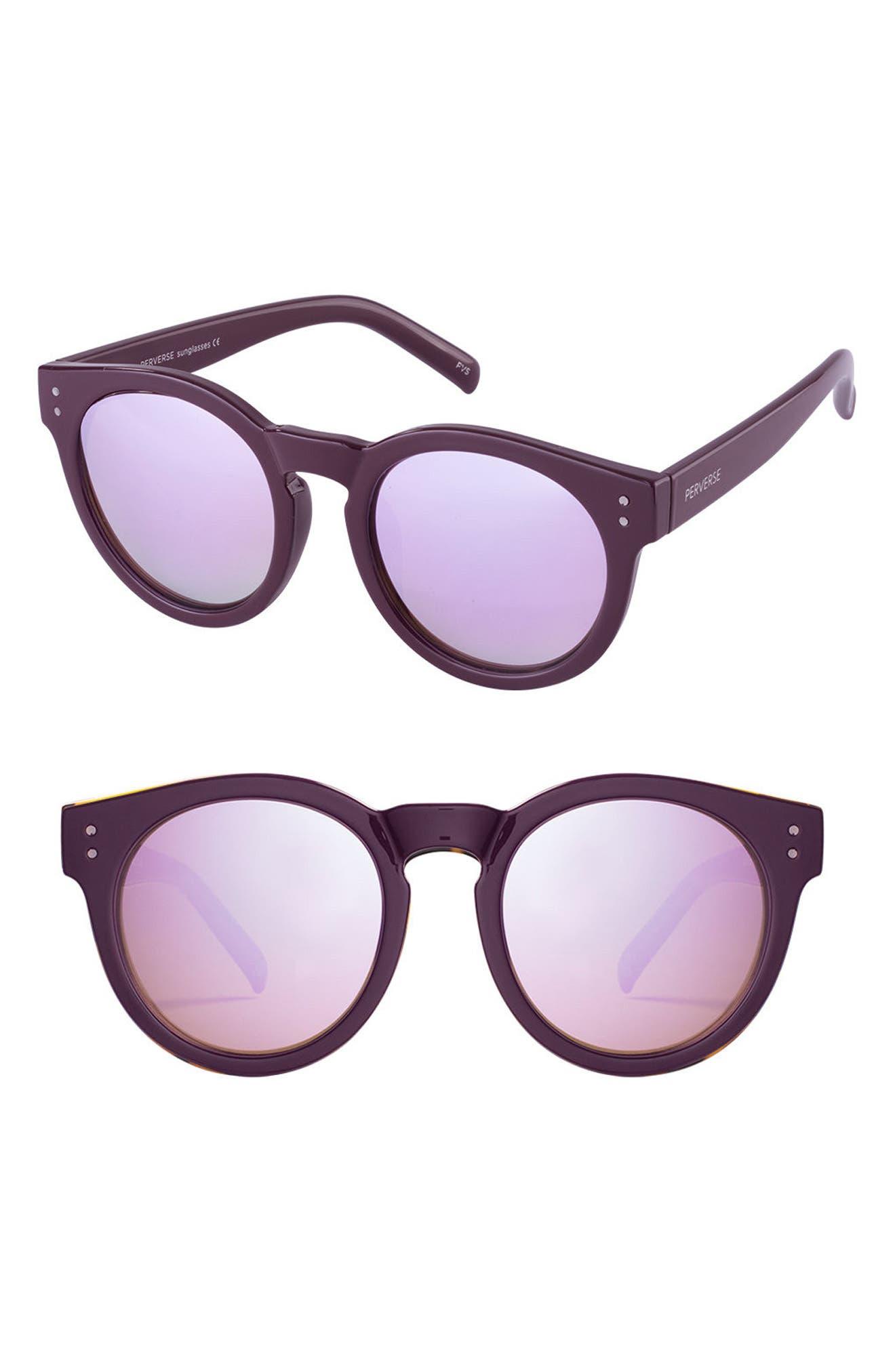 PERVERSE Declan 51mm Keyhole Sunglasses