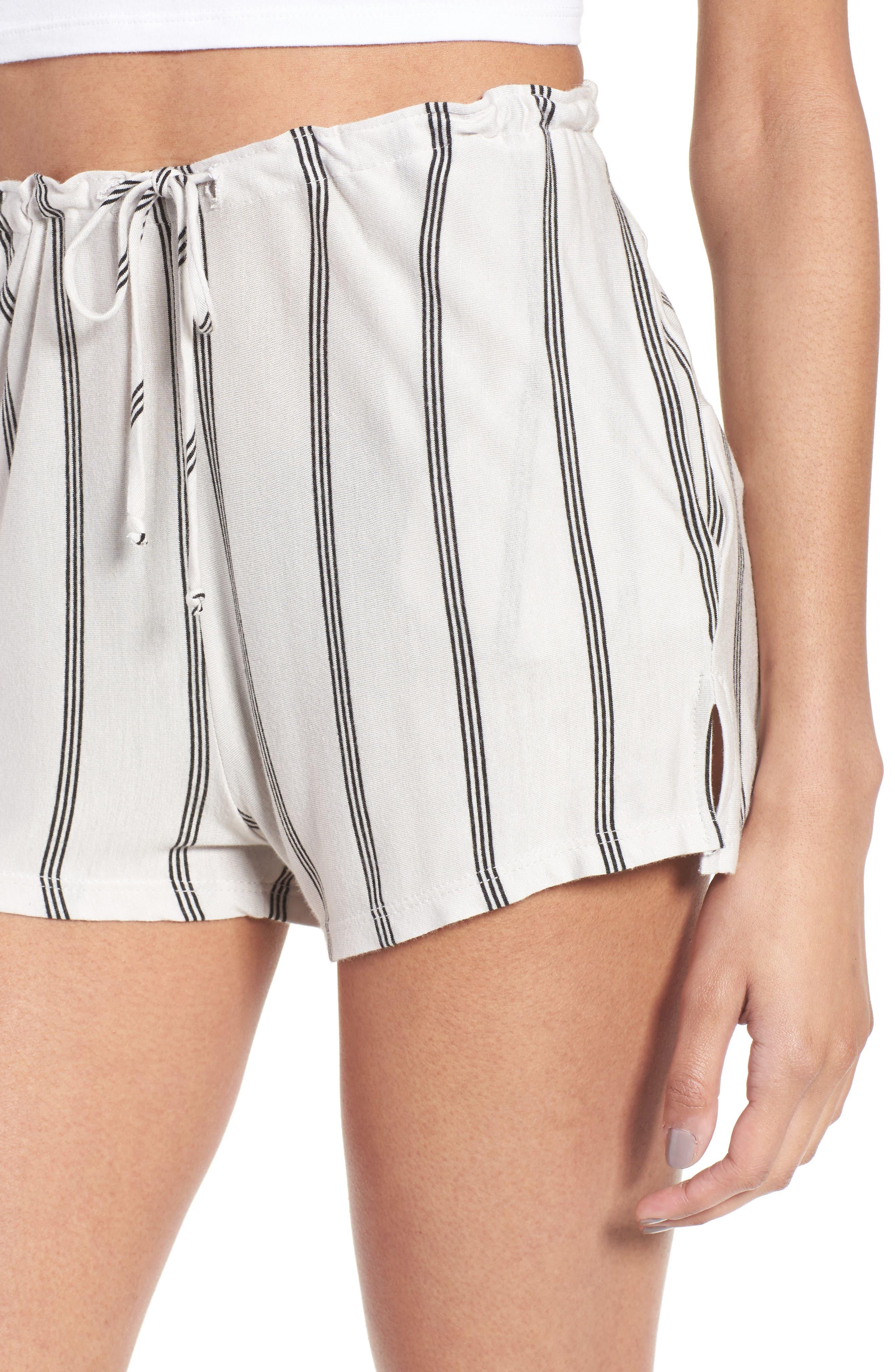 Alternate Image 4  - Michelle by Comune Reklaw Stripe Shorts