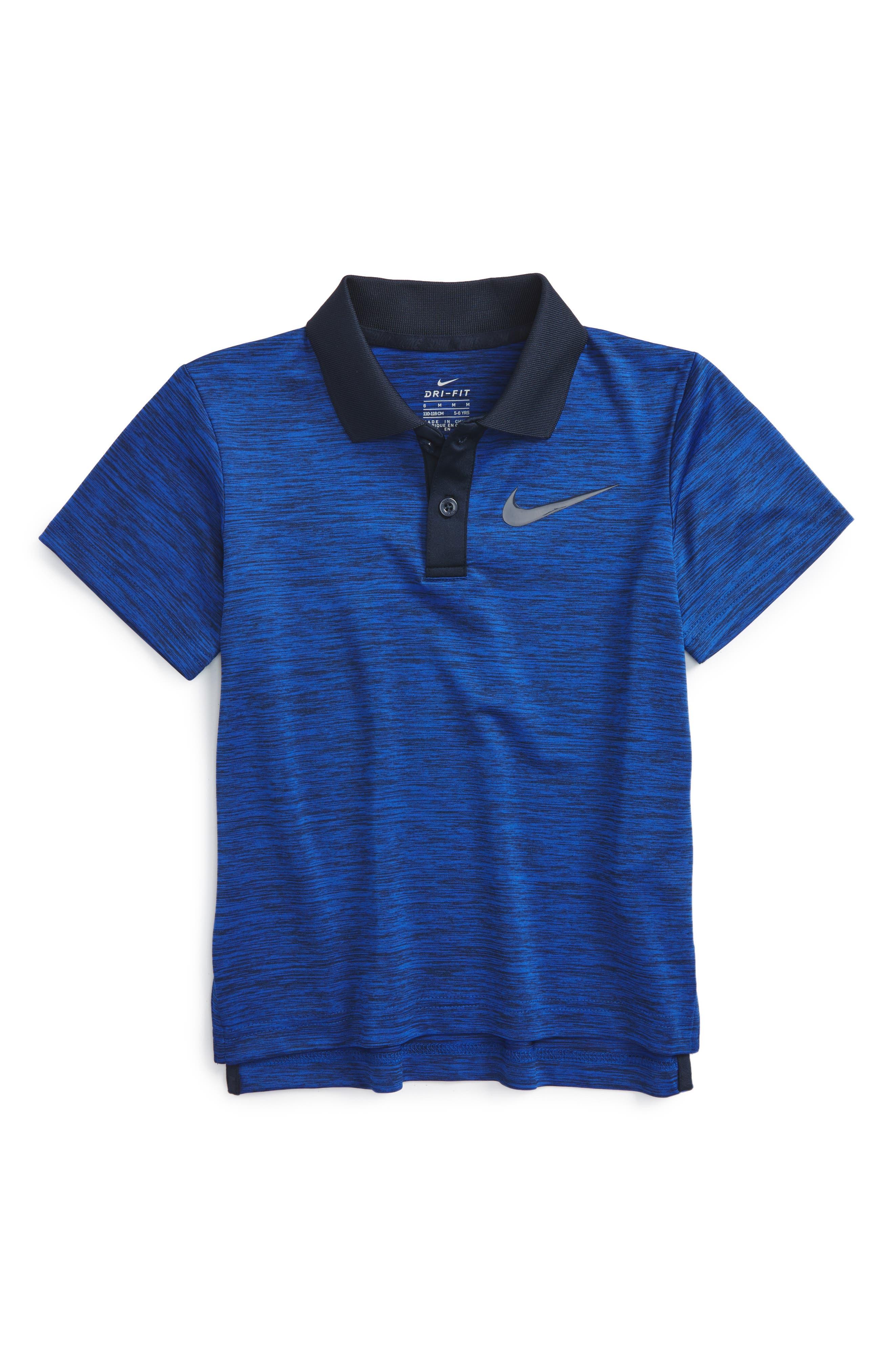 Alternate Image 1 Selected - Nike Dri-FIT Polo (Toddler Boys & Little Boys)