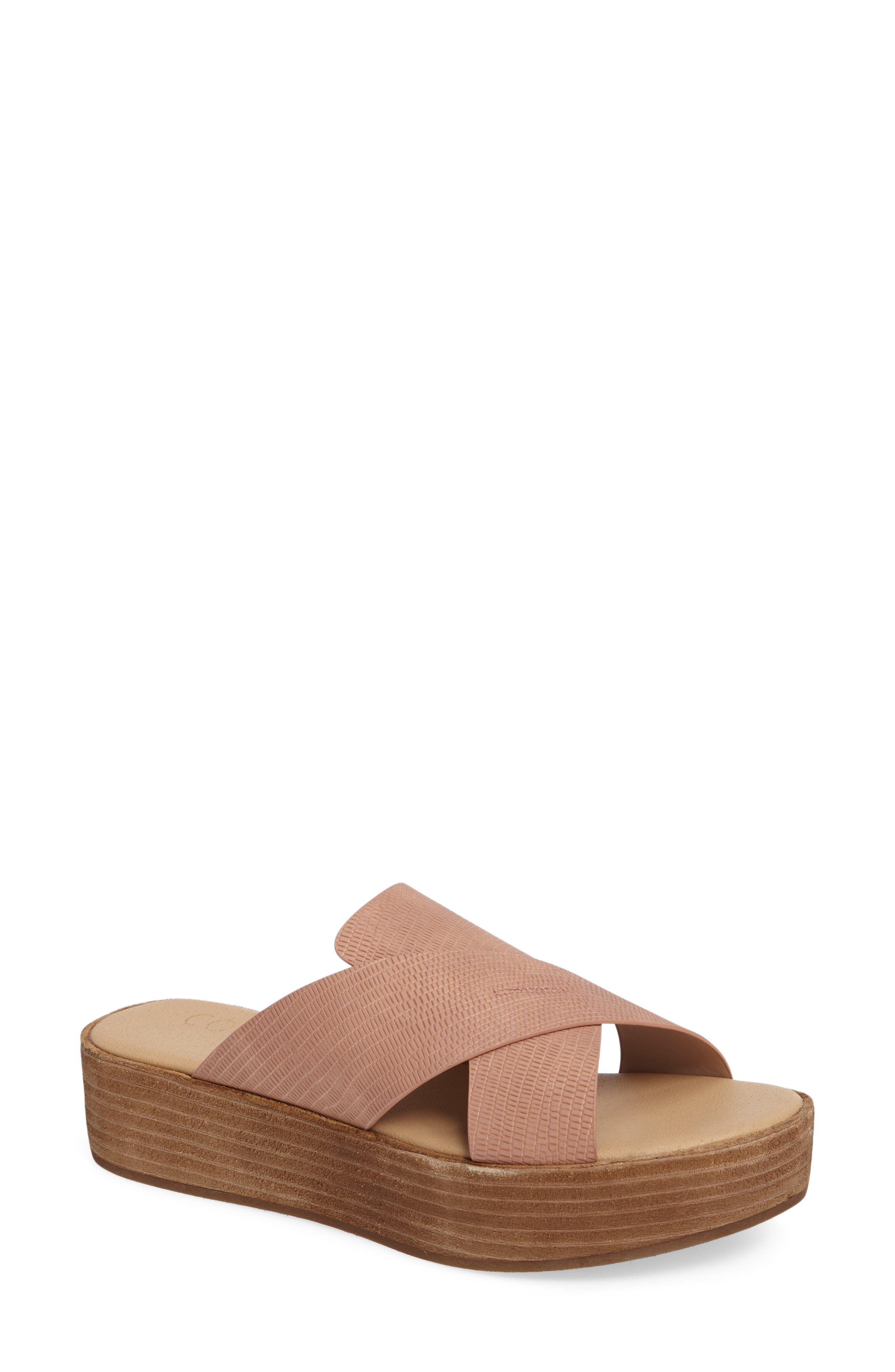 Coconuts by Matisse Masters Cross Strap Platform Sandal (Women)