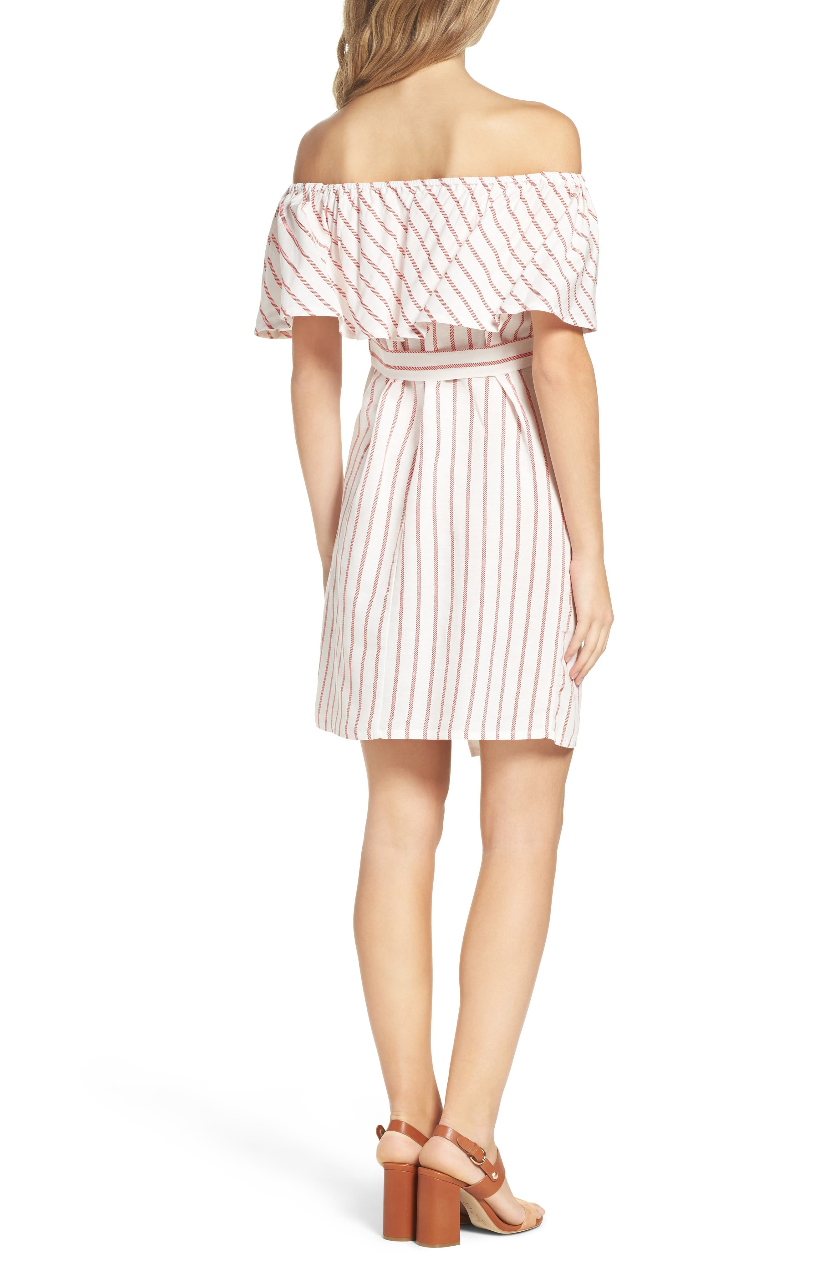 Alternate Image 2  - Bardot Capri Off the Shoulder Dress