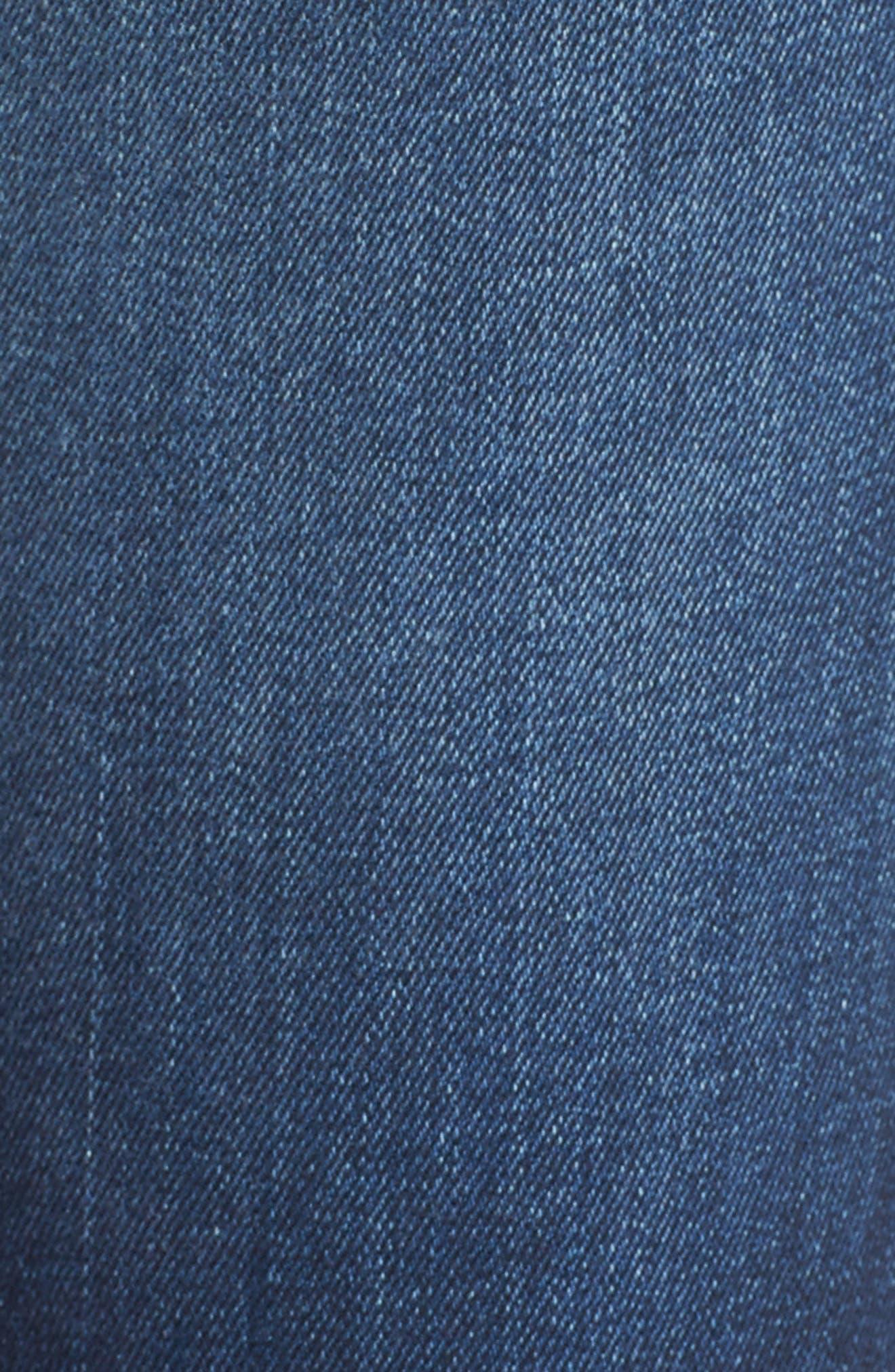 Alternate Image 5  - Hudson Jeans Collin Skinny Jeans (Pin Point)