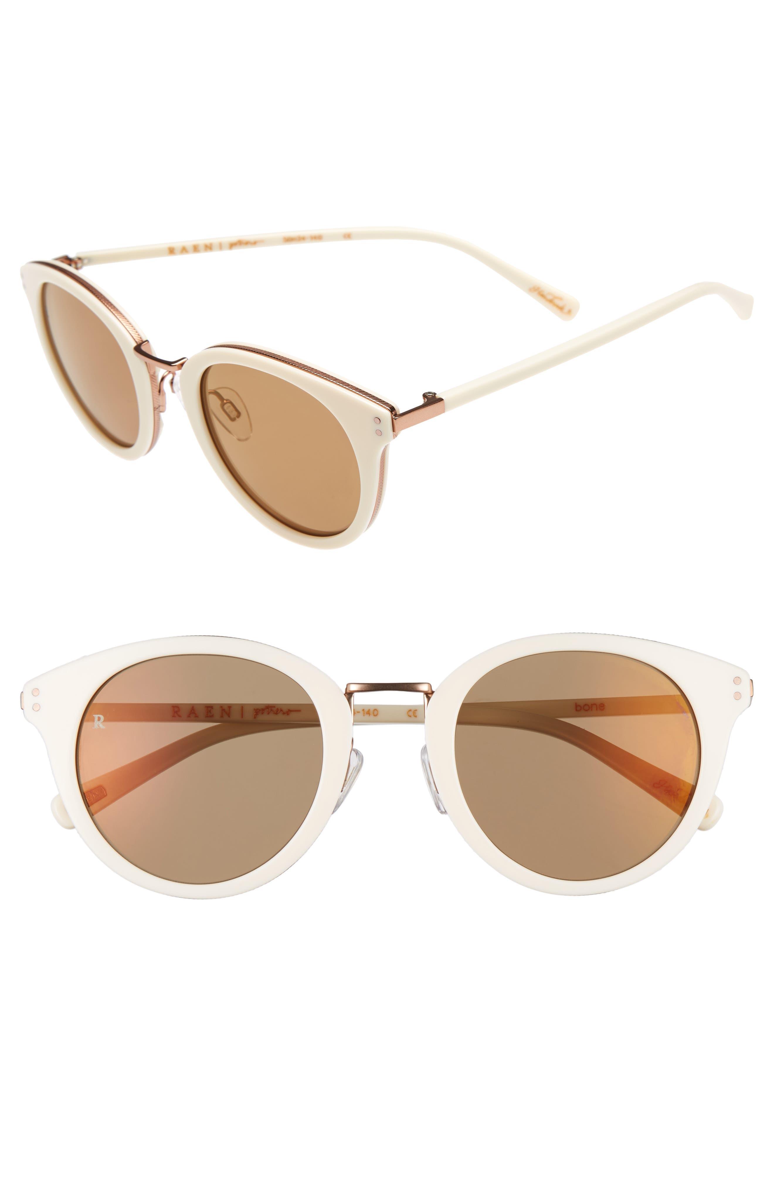 Portrero 50mm Sunglasses,                             Main thumbnail 1, color,                             Bone