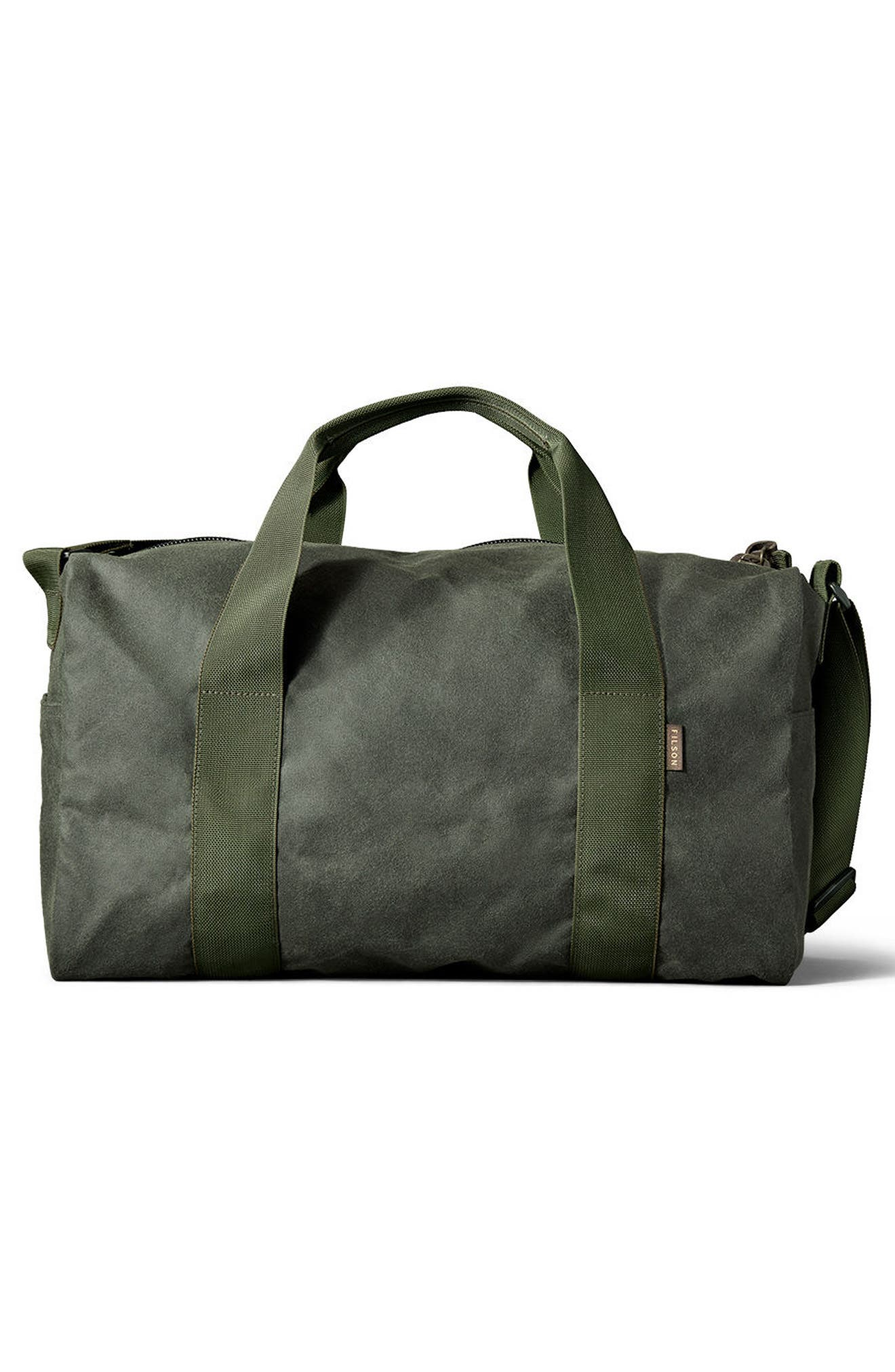 Small Field Duffel Bag,                             Alternate thumbnail 2, color,                             Spruce