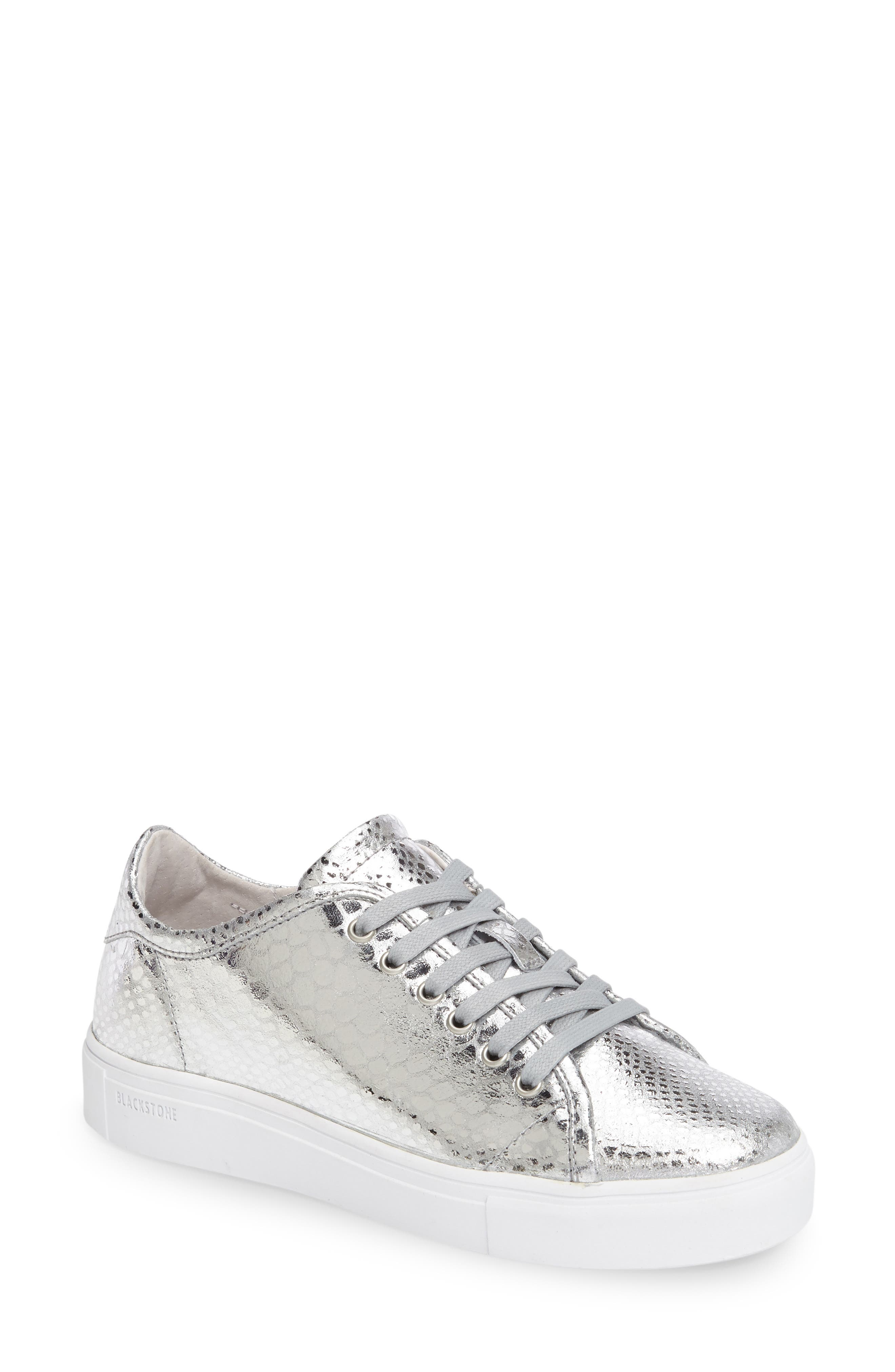 NL32 Sneaker,                         Main,                         color, Silver Leather
