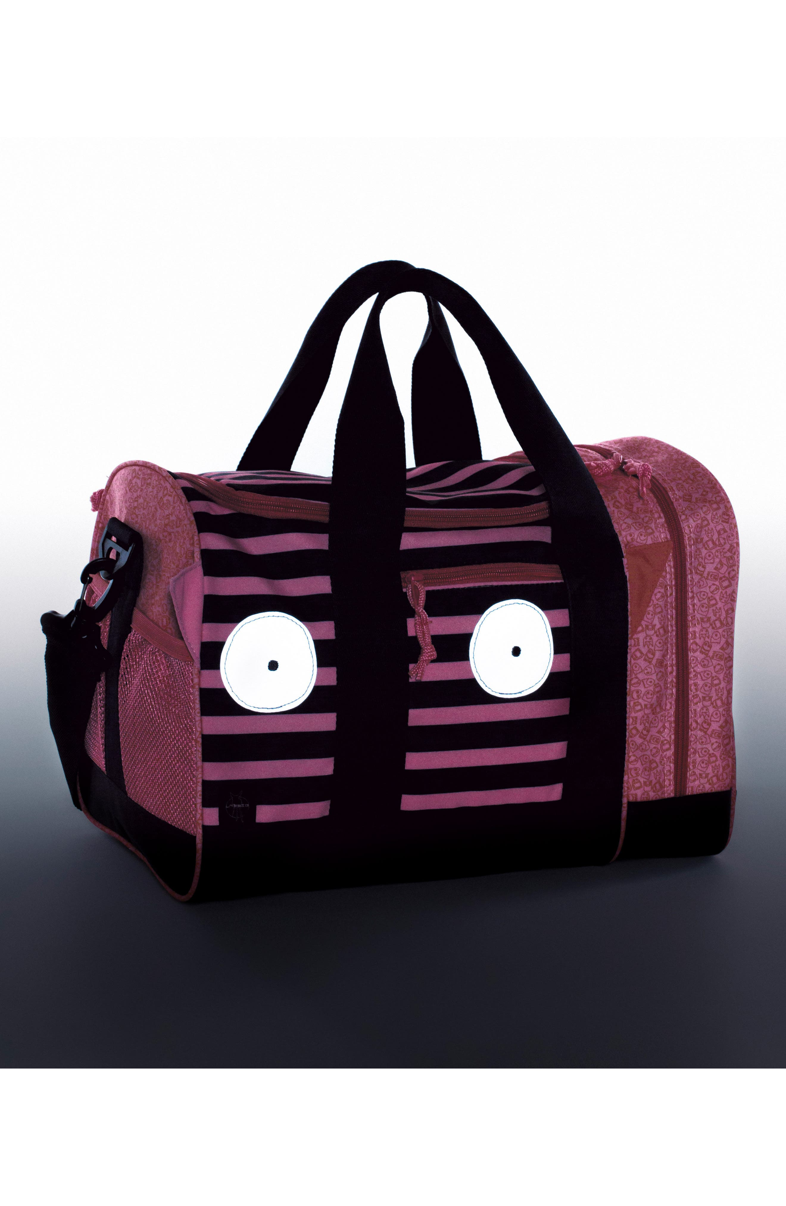 Mini Sports Bag with Glow-in-the-Dark Eyes,                             Alternate thumbnail 2, color,                             Mad Mabel