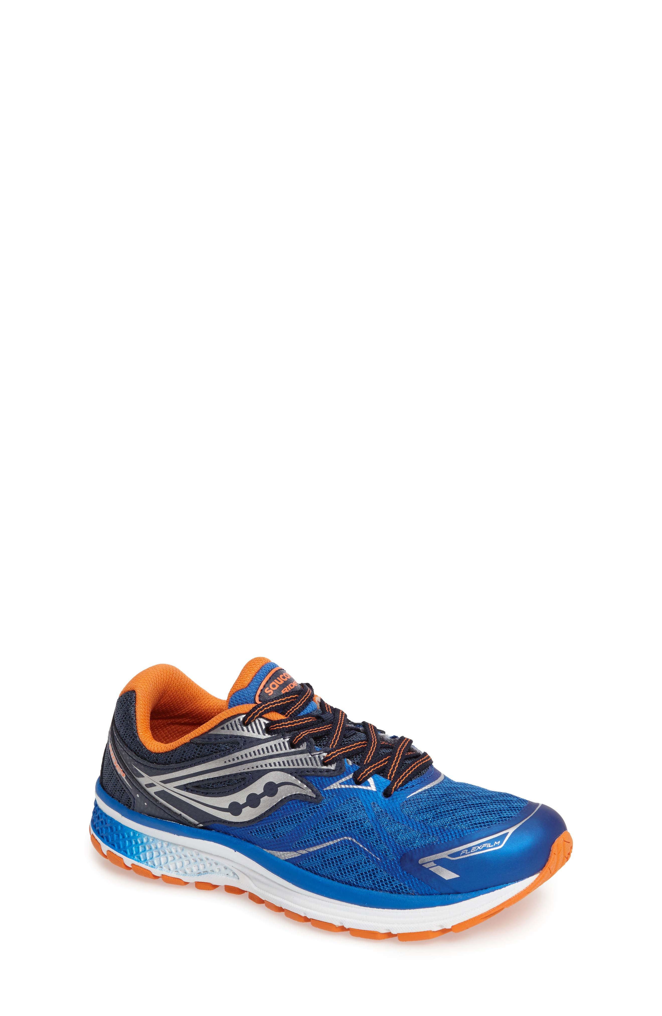 Guide 9 Running Shoe,                             Main thumbnail 1, color,                             Blue/ Orange