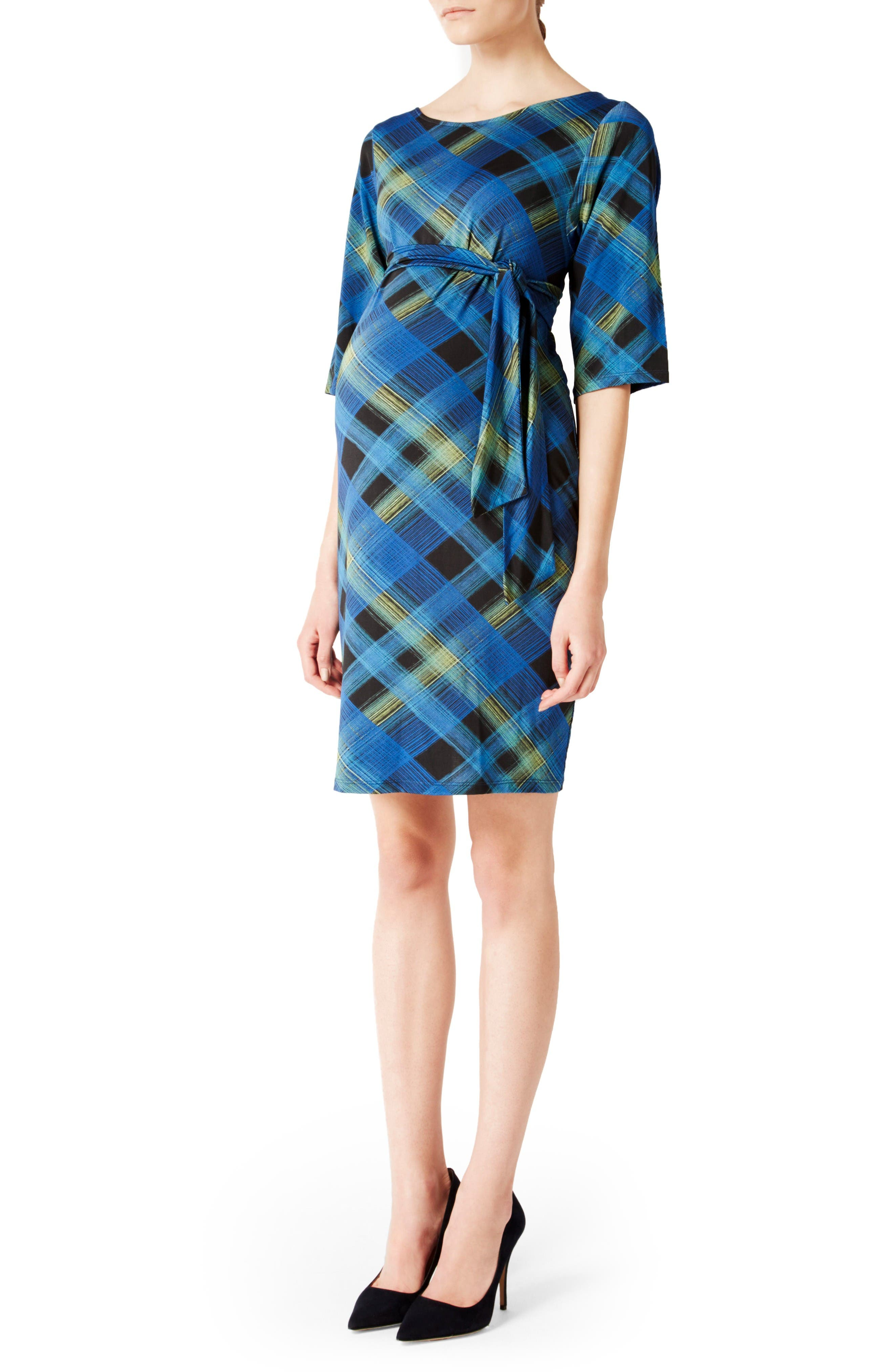 Alternate Image 1 Selected - Leota 'Nouveau' Sheath Maternity Dress
