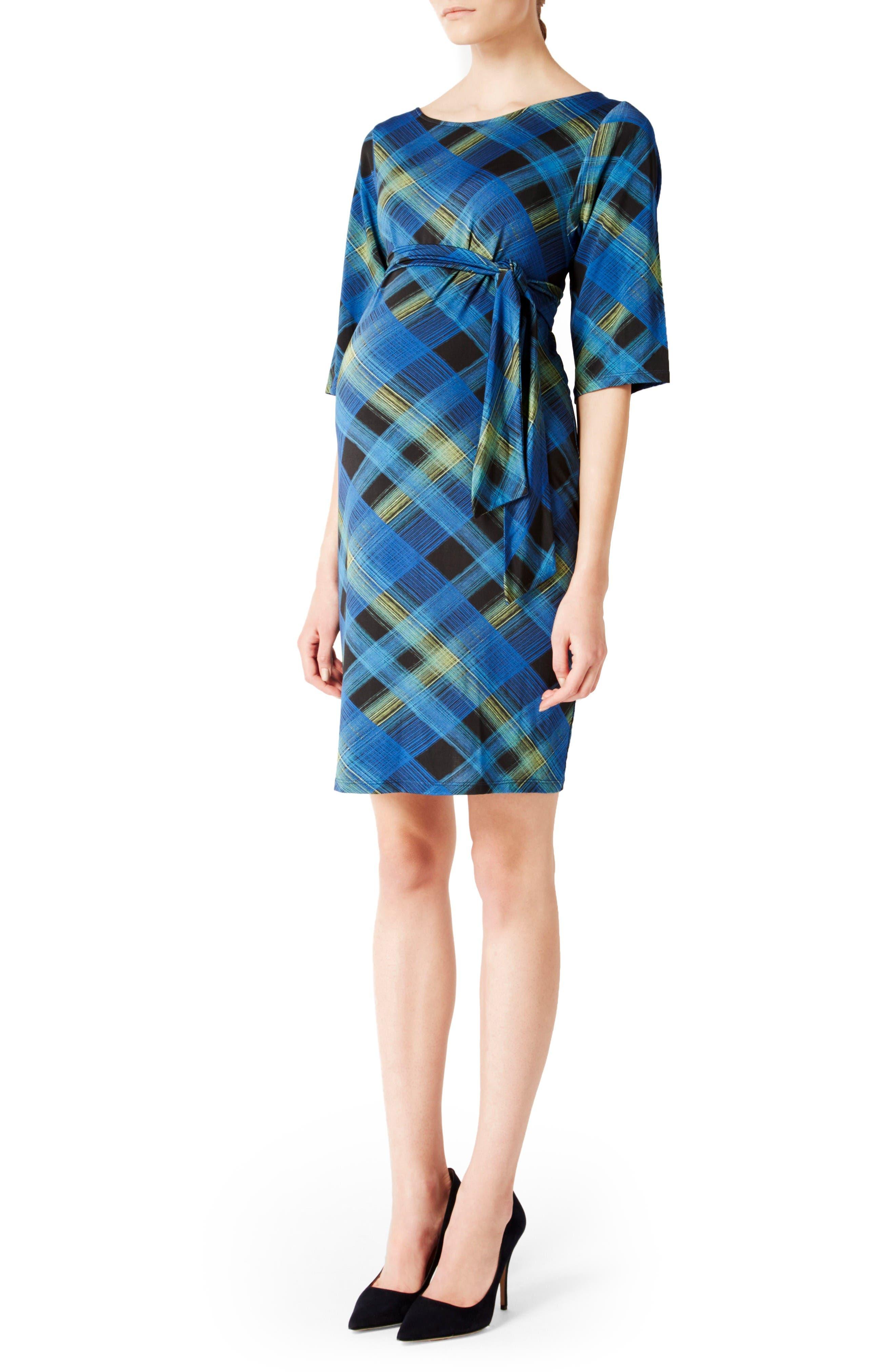 'Nouveau' Sheath Maternity Dress,                         Main,                         color, Tundra