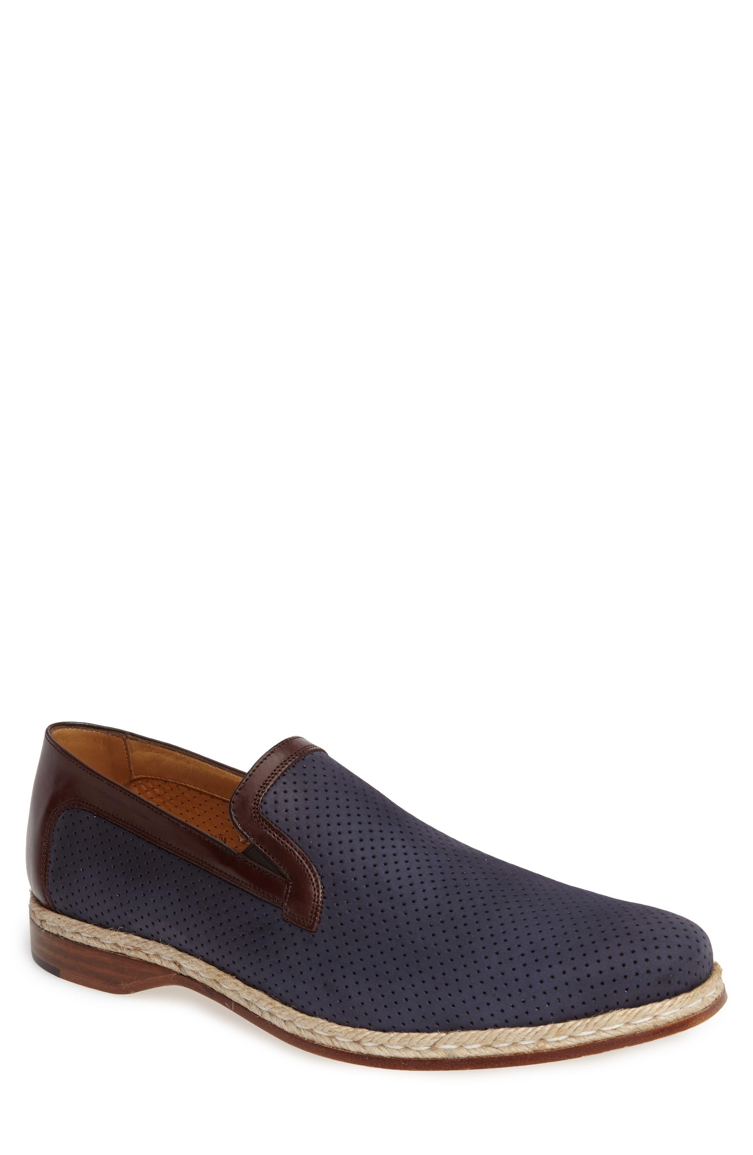 Mezlan Marcet Perforated Loafer (Men)