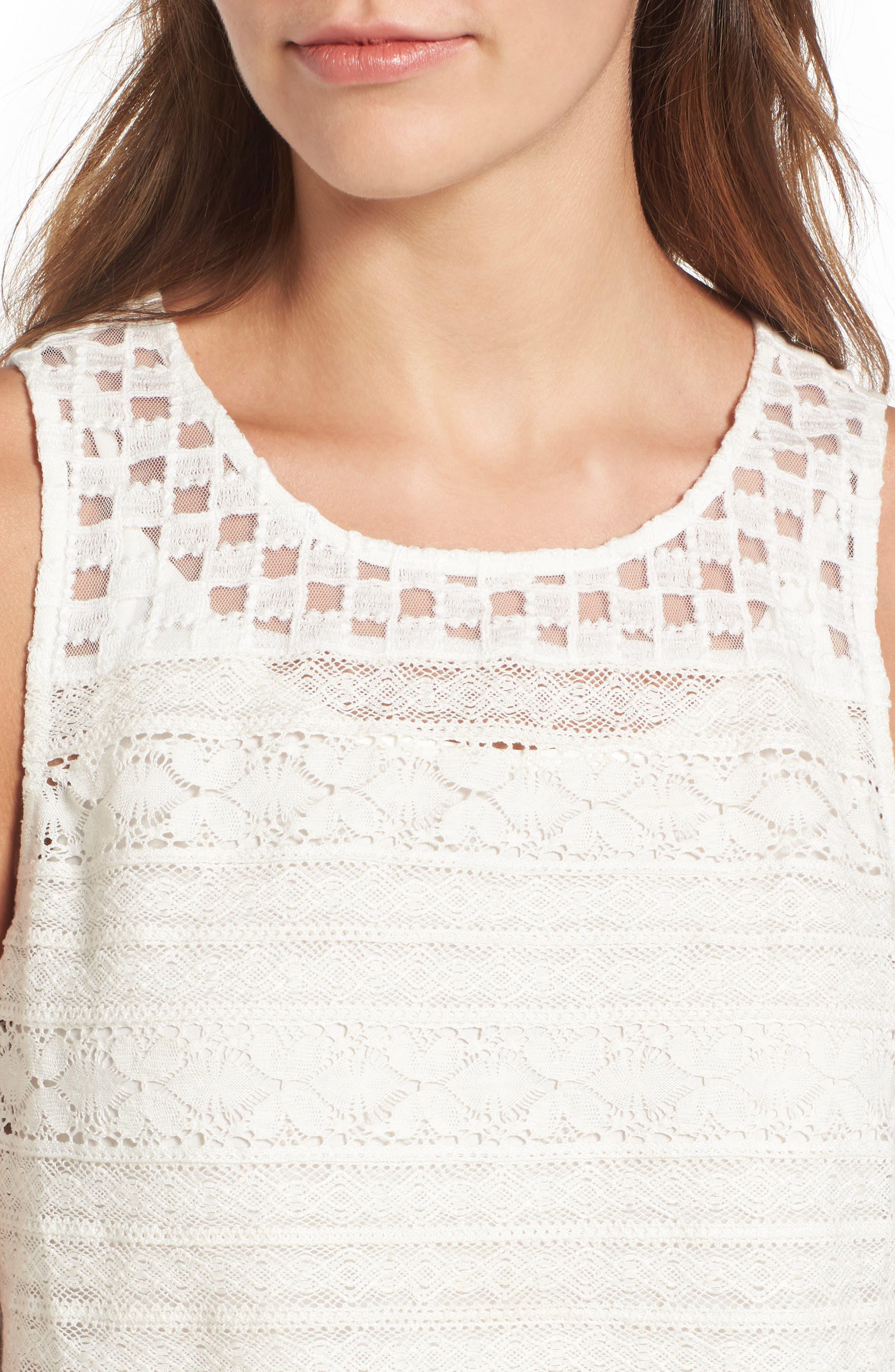 Alternate Image 4  - Hinge Lace Shift Dress