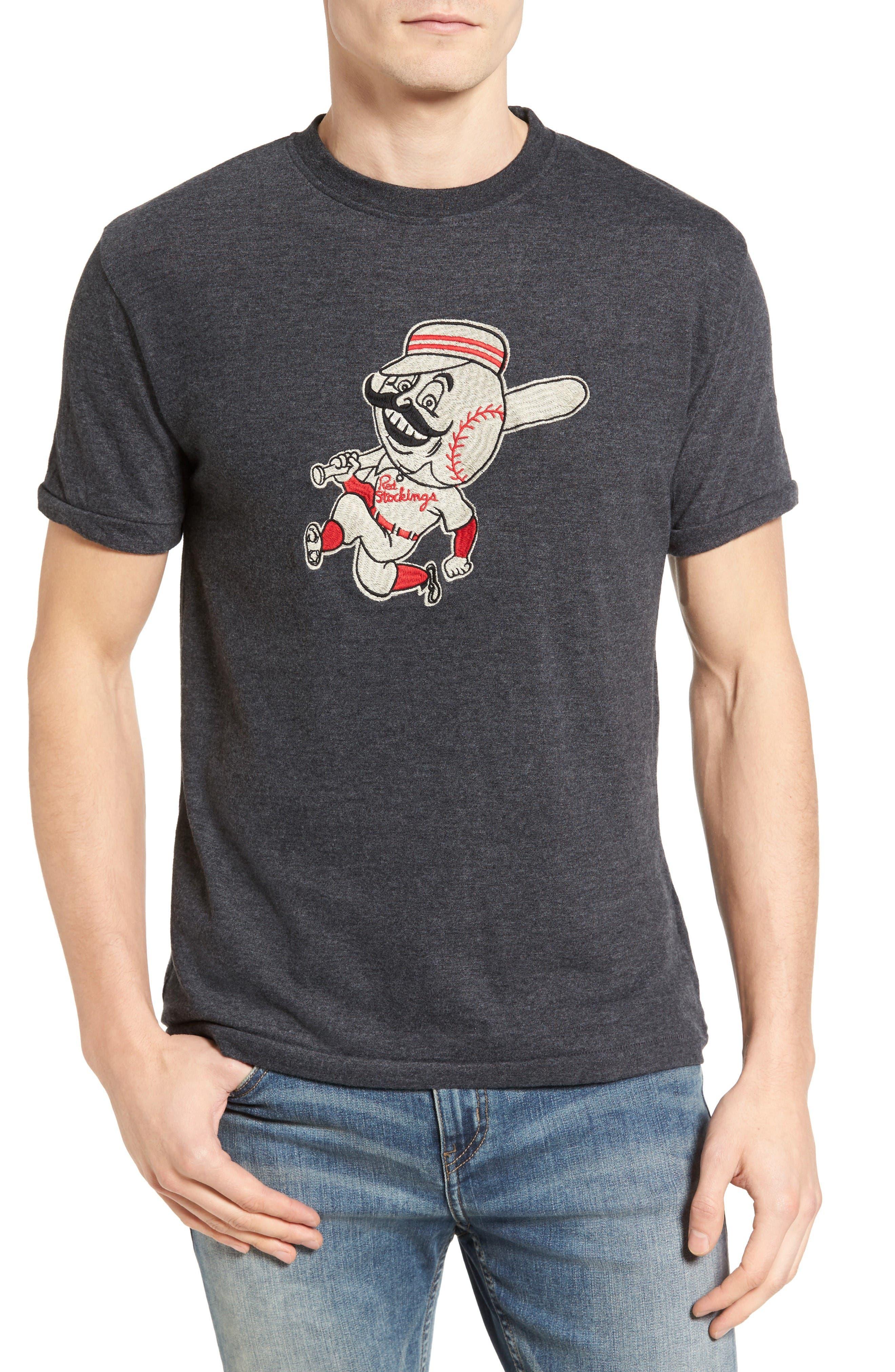 Alternate Image 1 Selected - American Needle Hillwood Cincinnati Reds T-Shirt