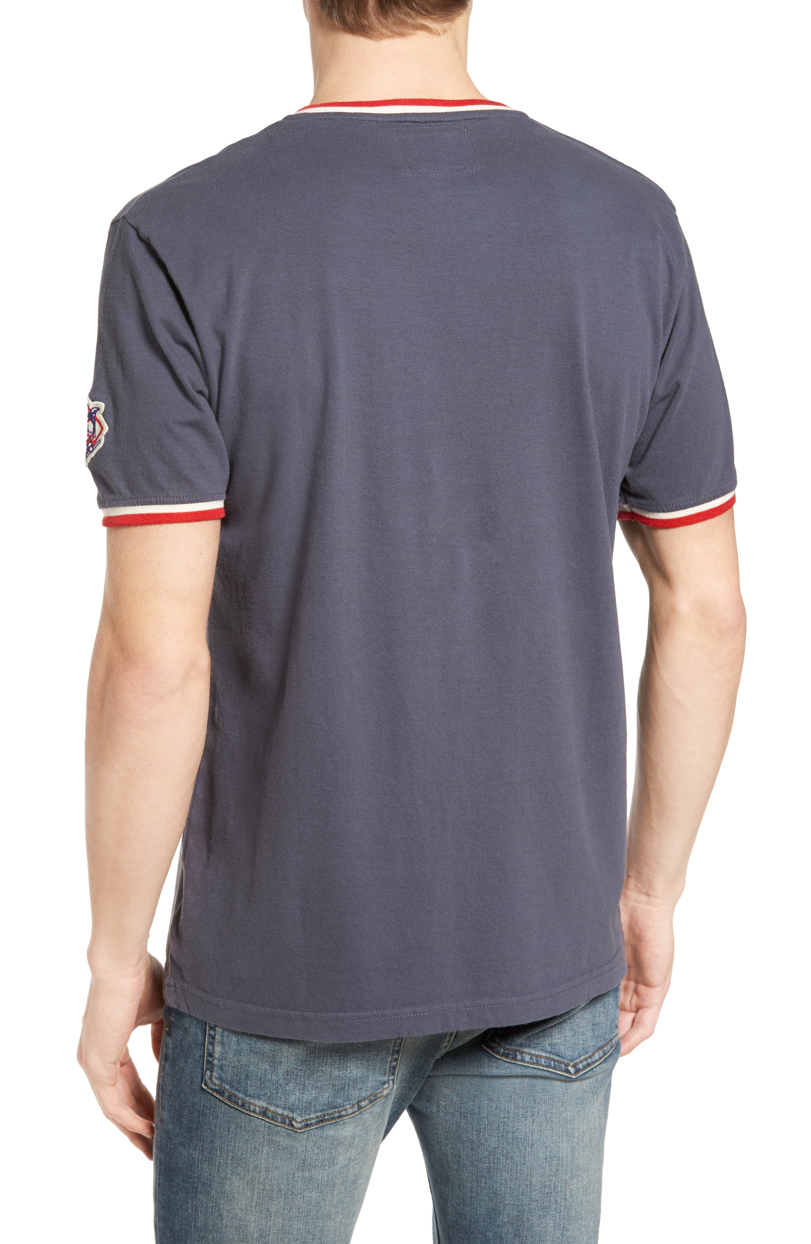 Eastwood Washington Nationals T-Shirt,                             Alternate thumbnail 2, color,                             Navy