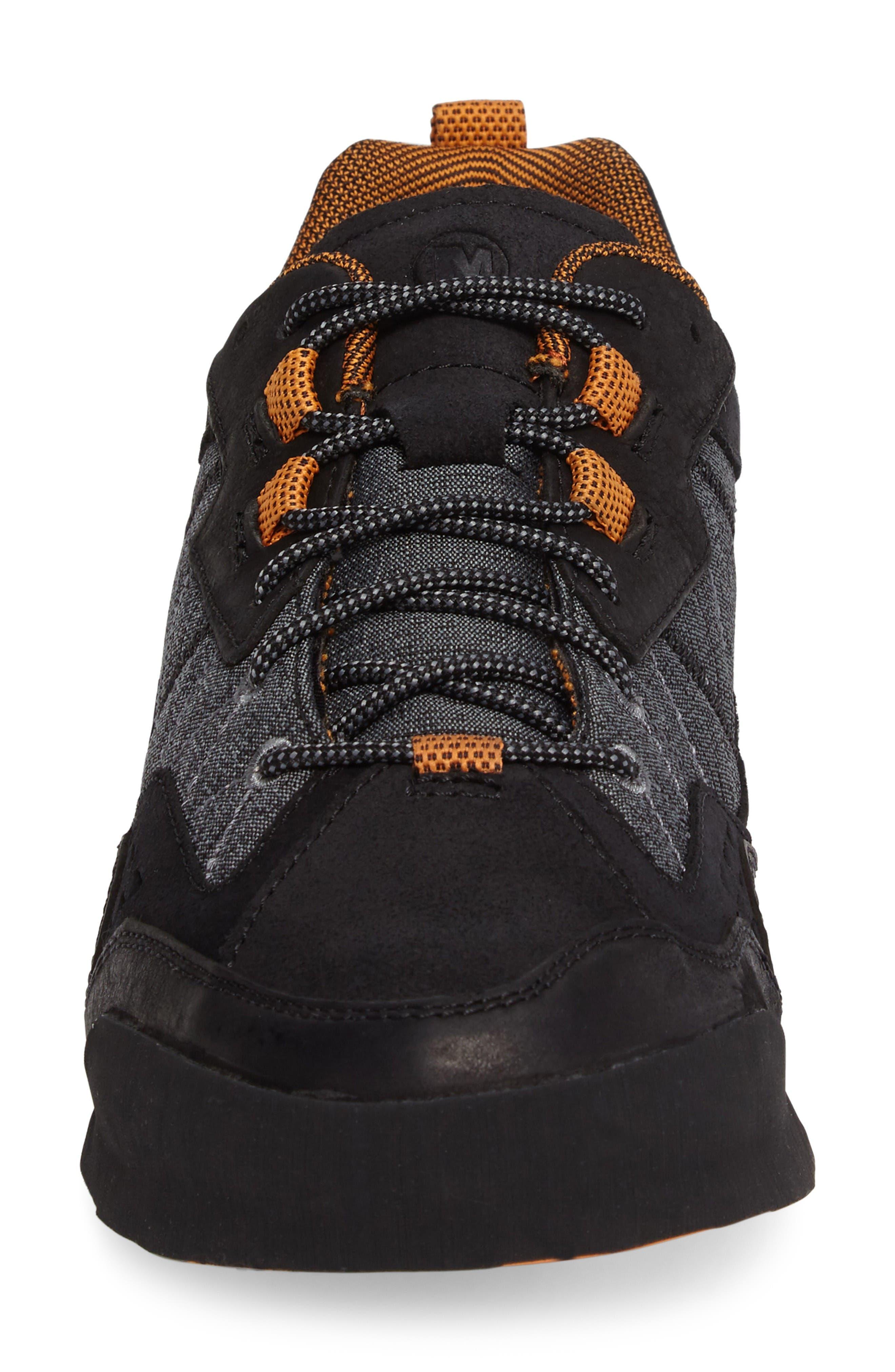 Burnt Rock Sneaker,                             Alternate thumbnail 4, color,                             Black