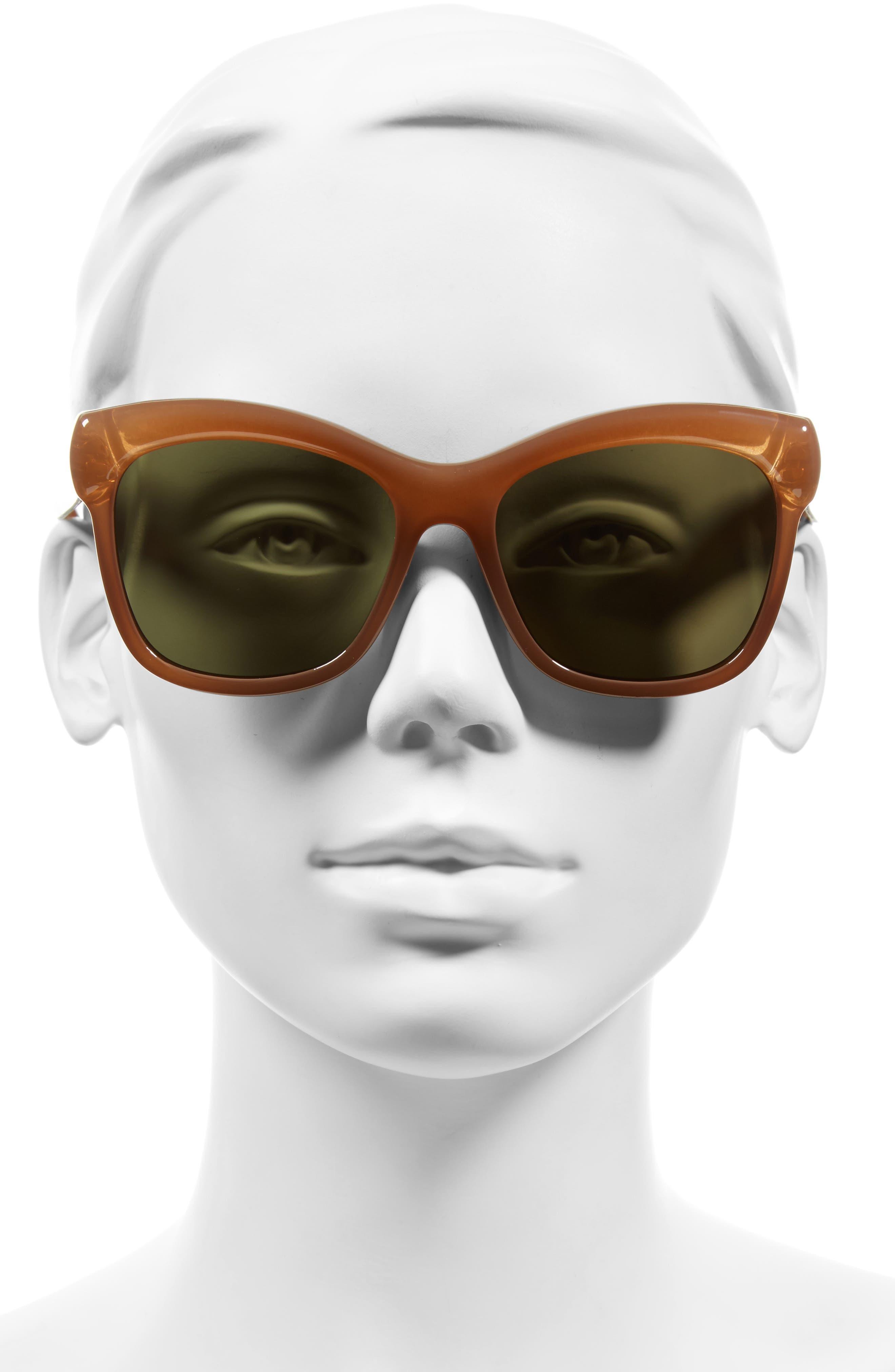 Alternate Image 2  - Givenchy 55mm Retro Sunglasses