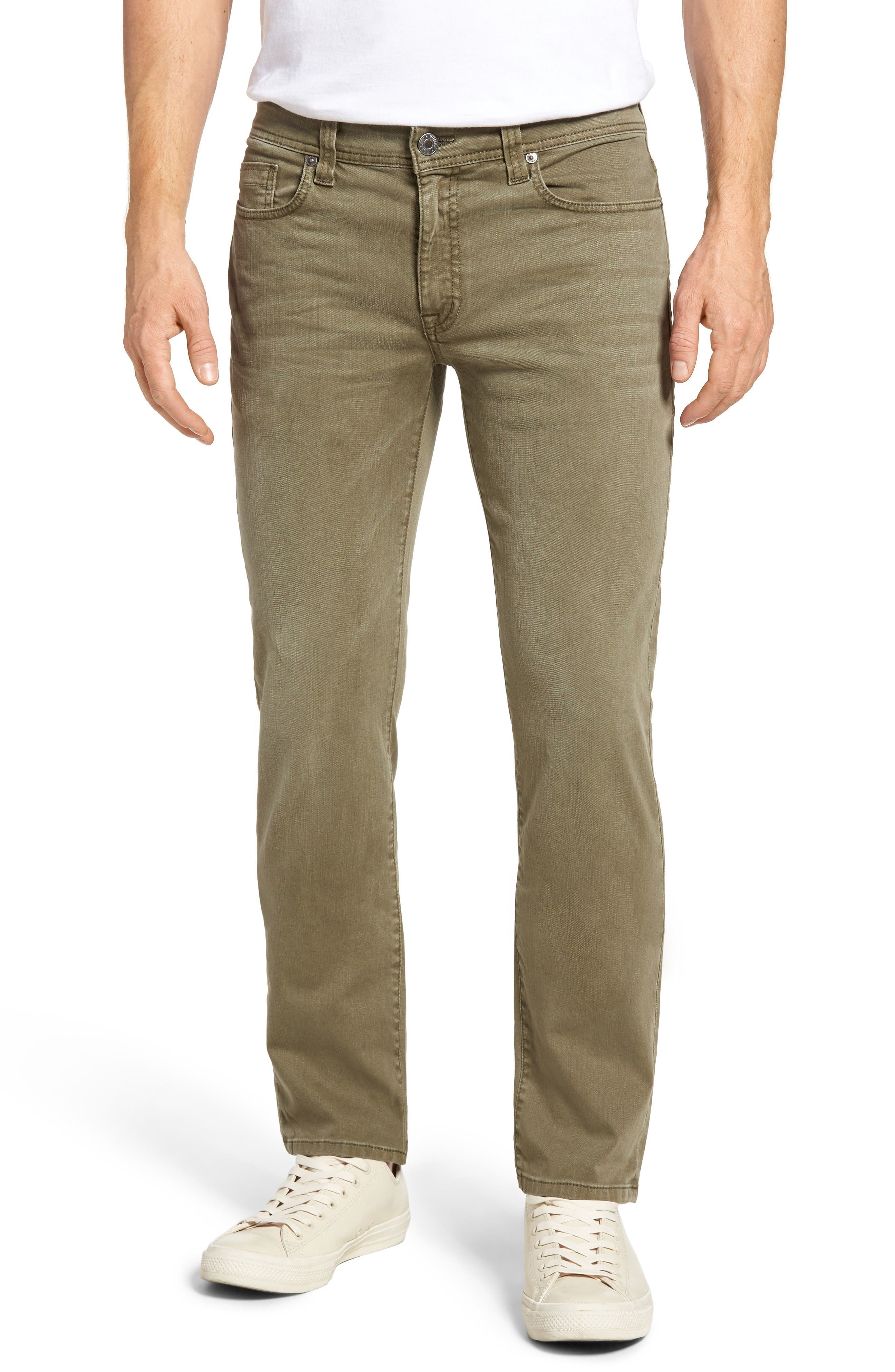 Fidelity Denim Jimmy Slim Straight Leg Jeans (Artichoke)