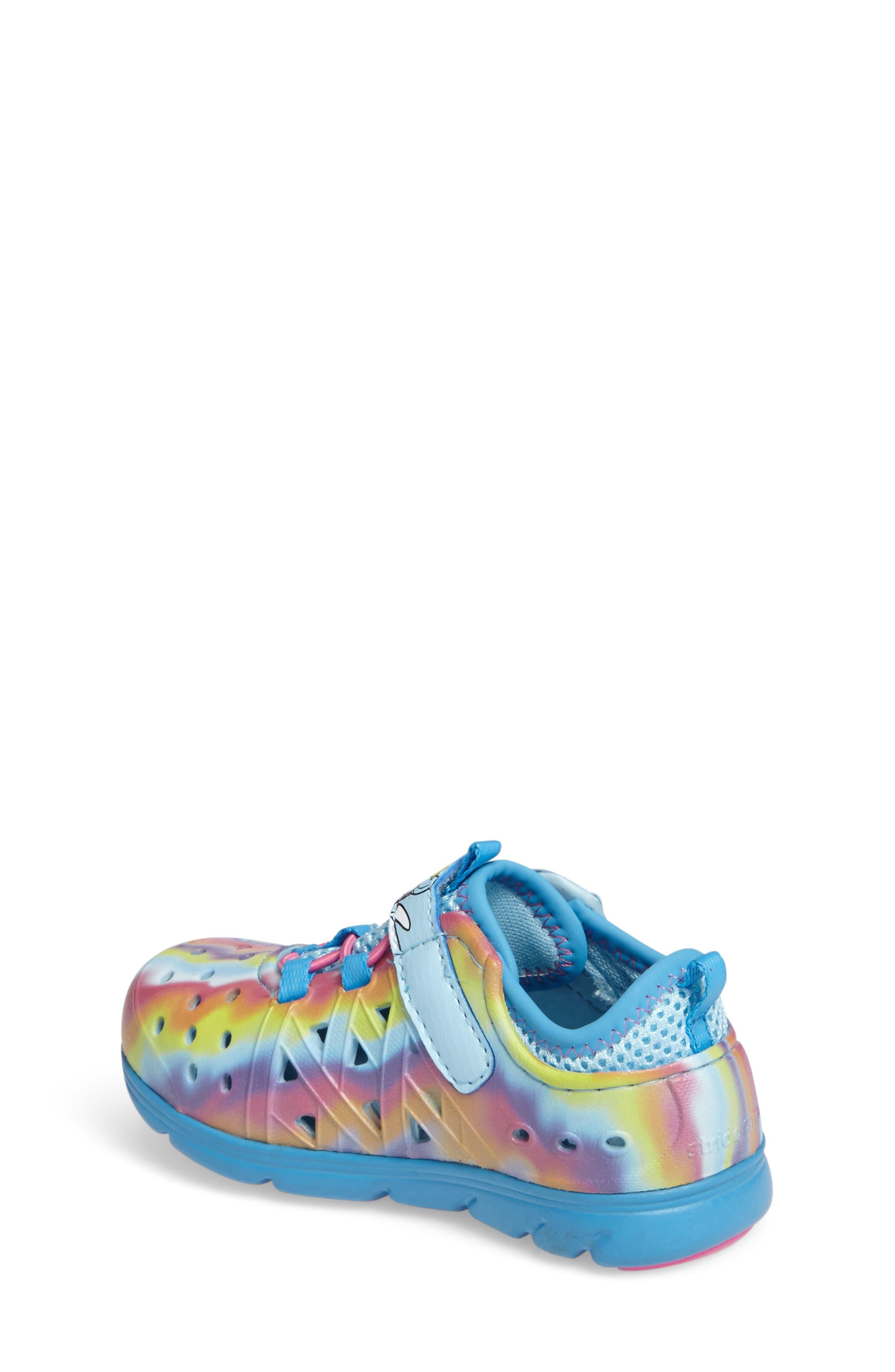 Alternate Image 2  - Stride Rite Made2Play® My Little Pony™ Phibian Sneaker (Baby, Walker, Toddler & Little Kid)