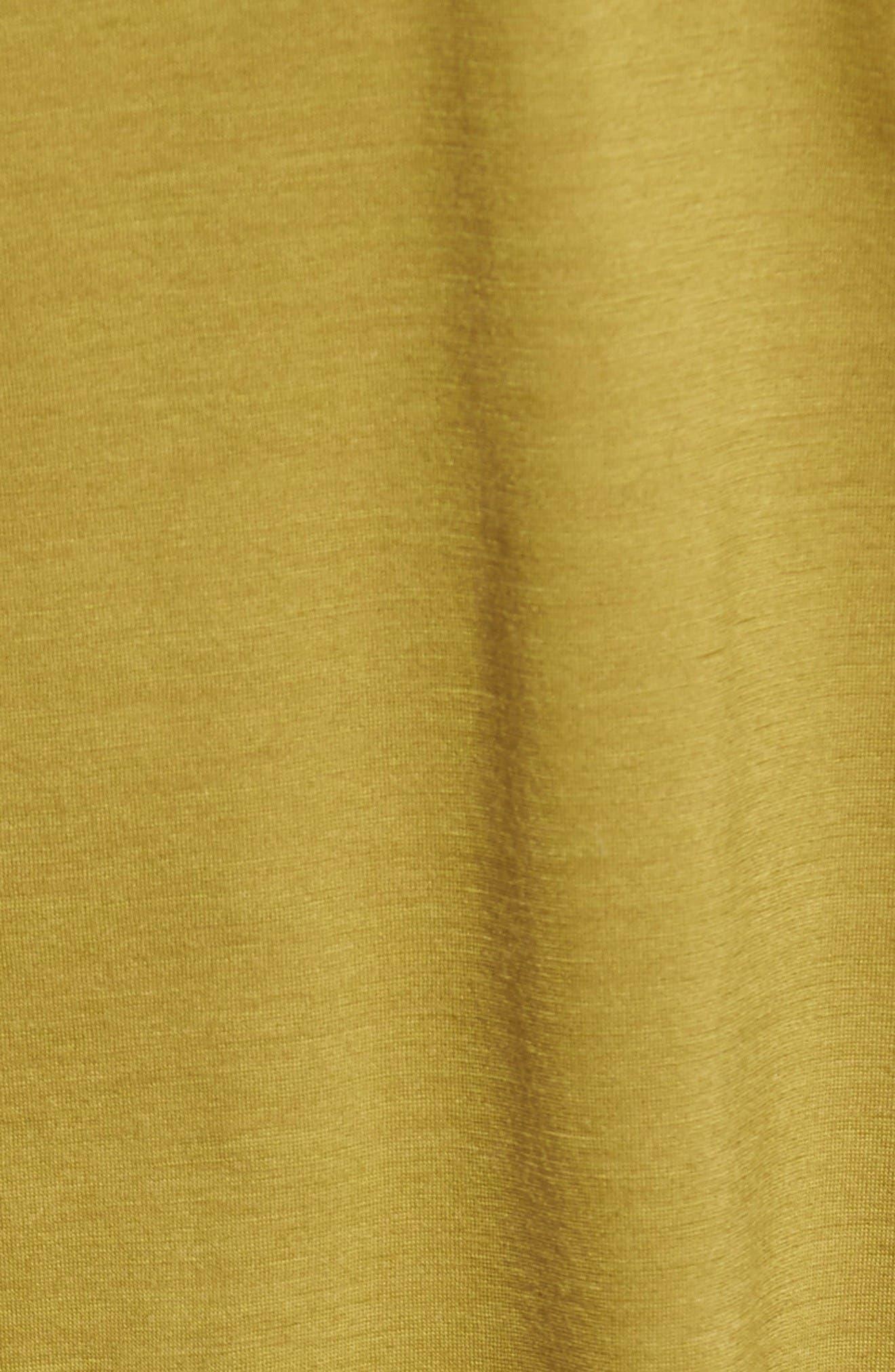 Alternate Image 6  - ibex 'All Day Weightless Wool Blend' T-Shirt