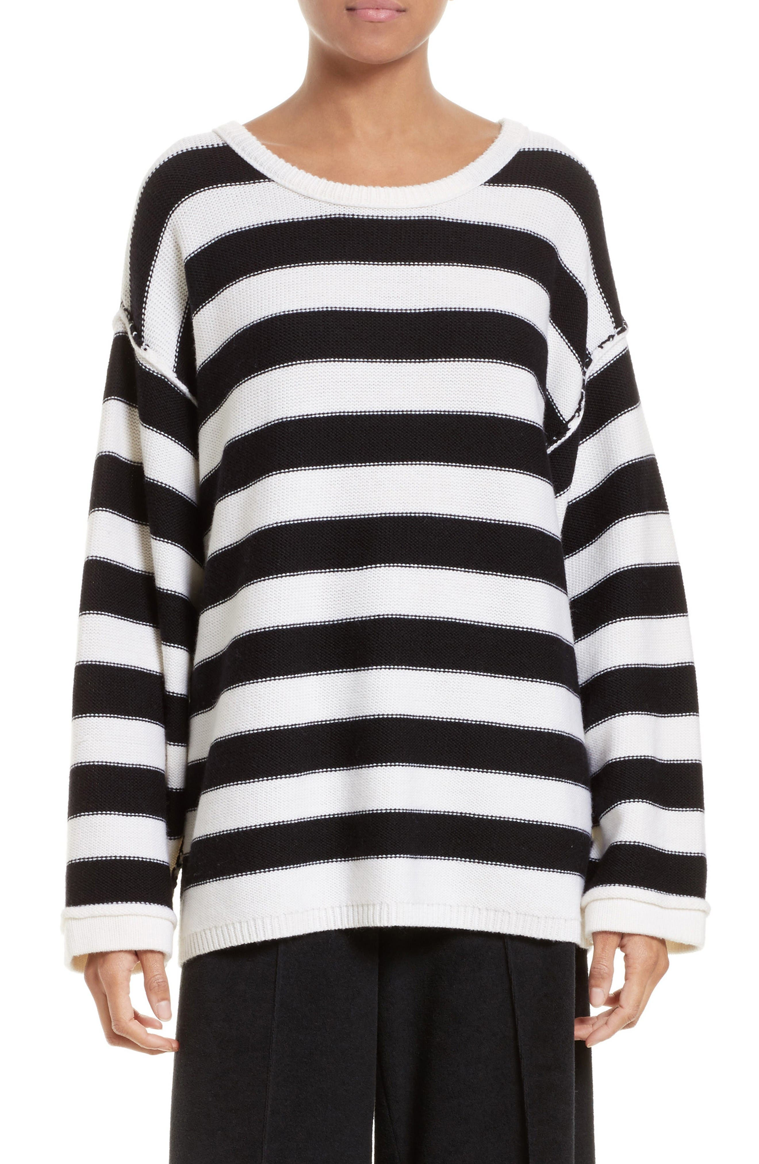 ATM ANTHONY THOMAS MELILLO Oversized Merino Wool Sweater