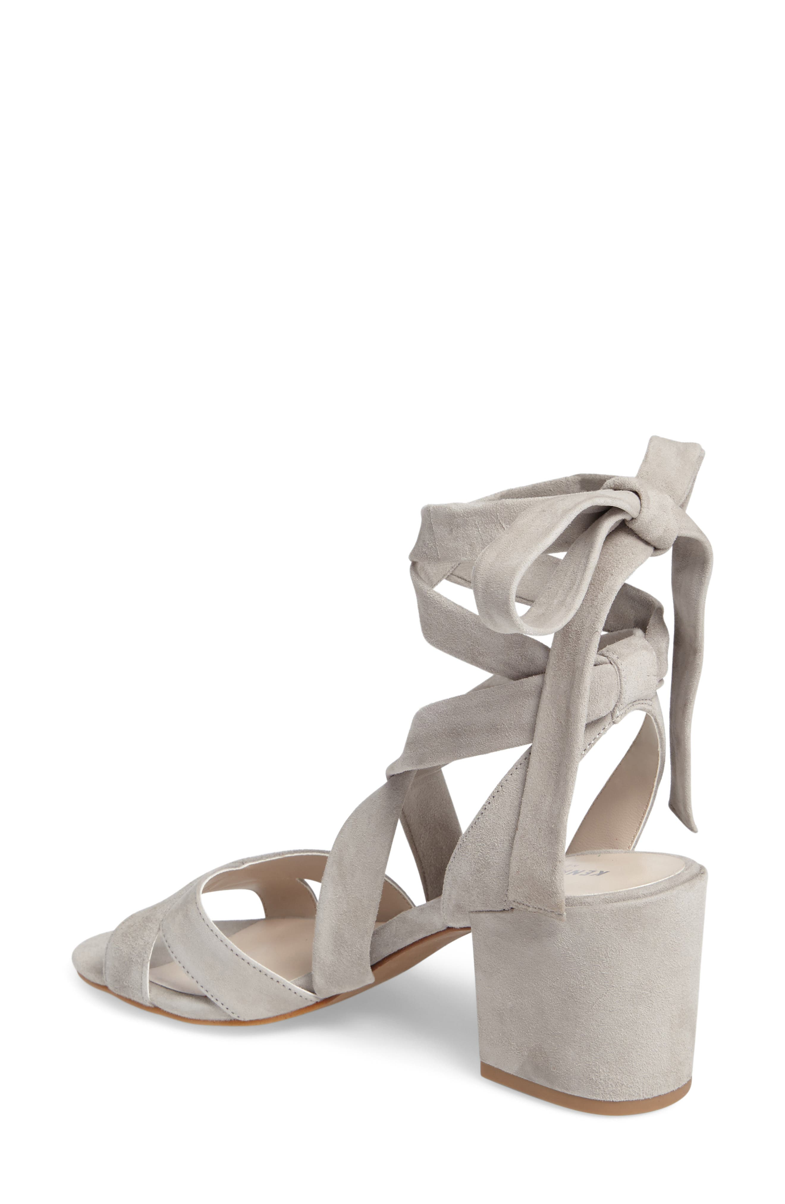 Alternate Image 2  - Kenneth Cole New York 'Victoria' Leather Ankle Strap Sandal (Women)