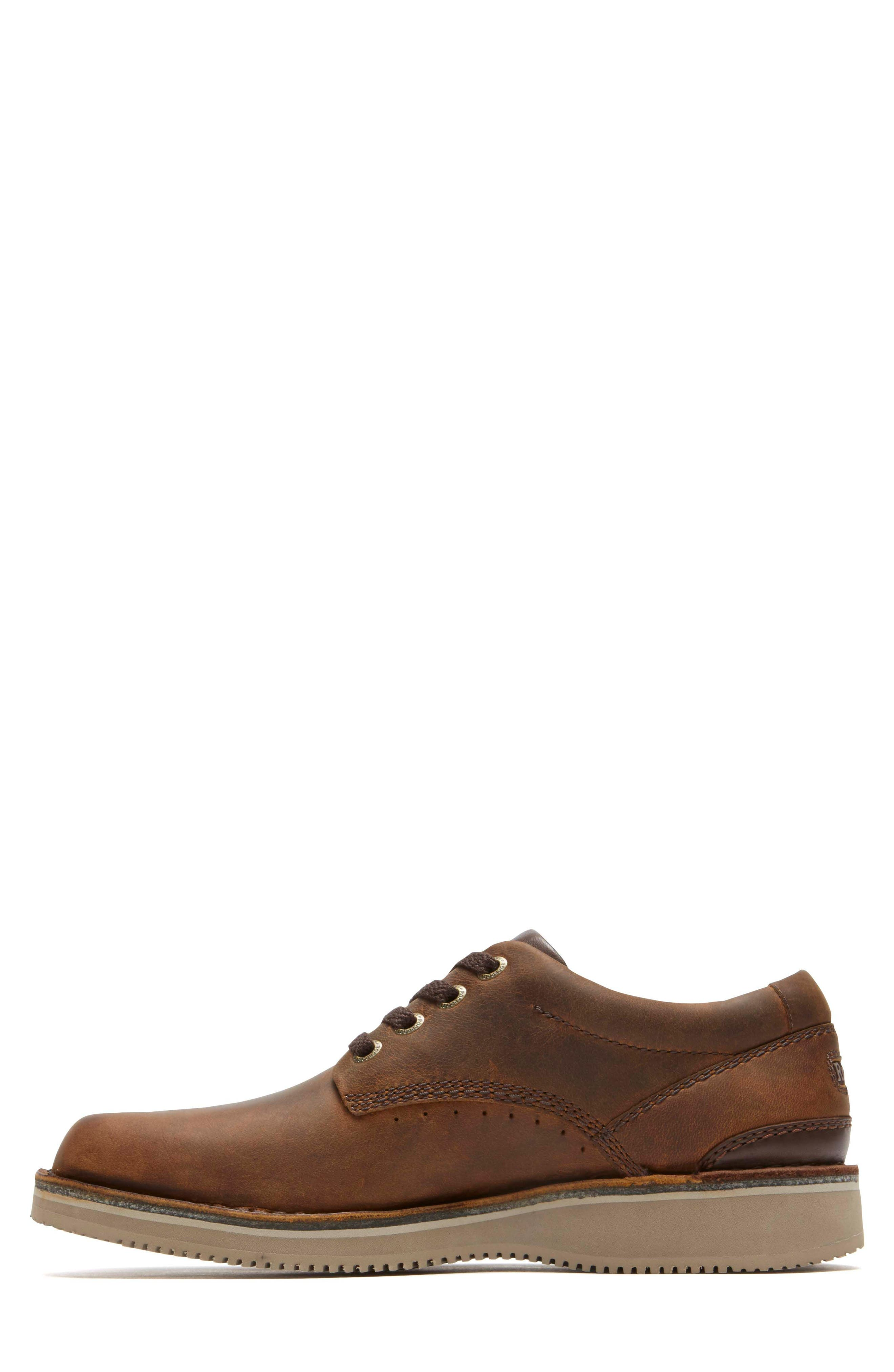 'Prestige Point' Plain Toe Derby,                             Alternate thumbnail 2, color,                             Beeswax Leather