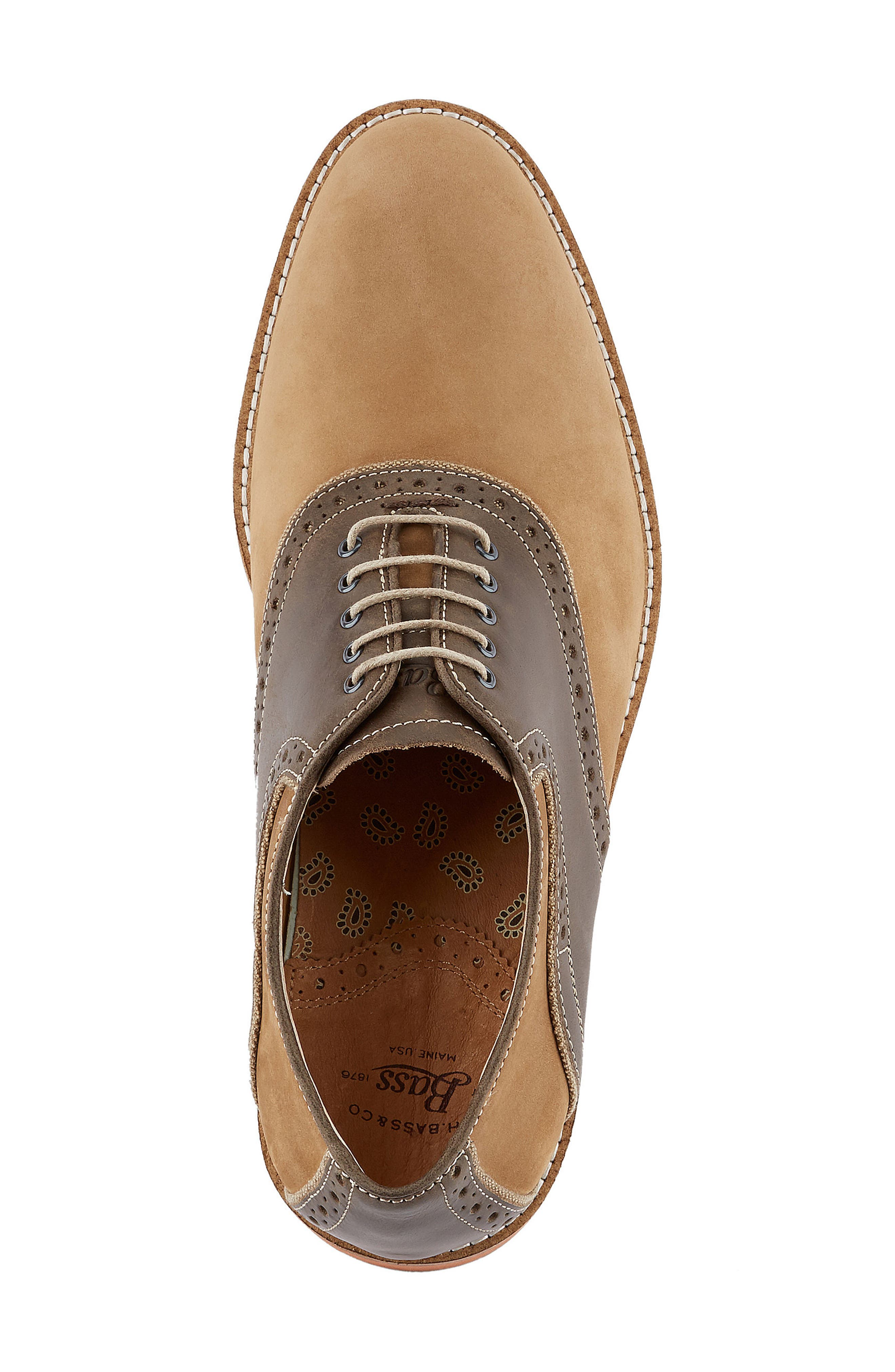 Alternate Image 4  - G.H. Bass & Co. Noah Saddle Shoe (Men)