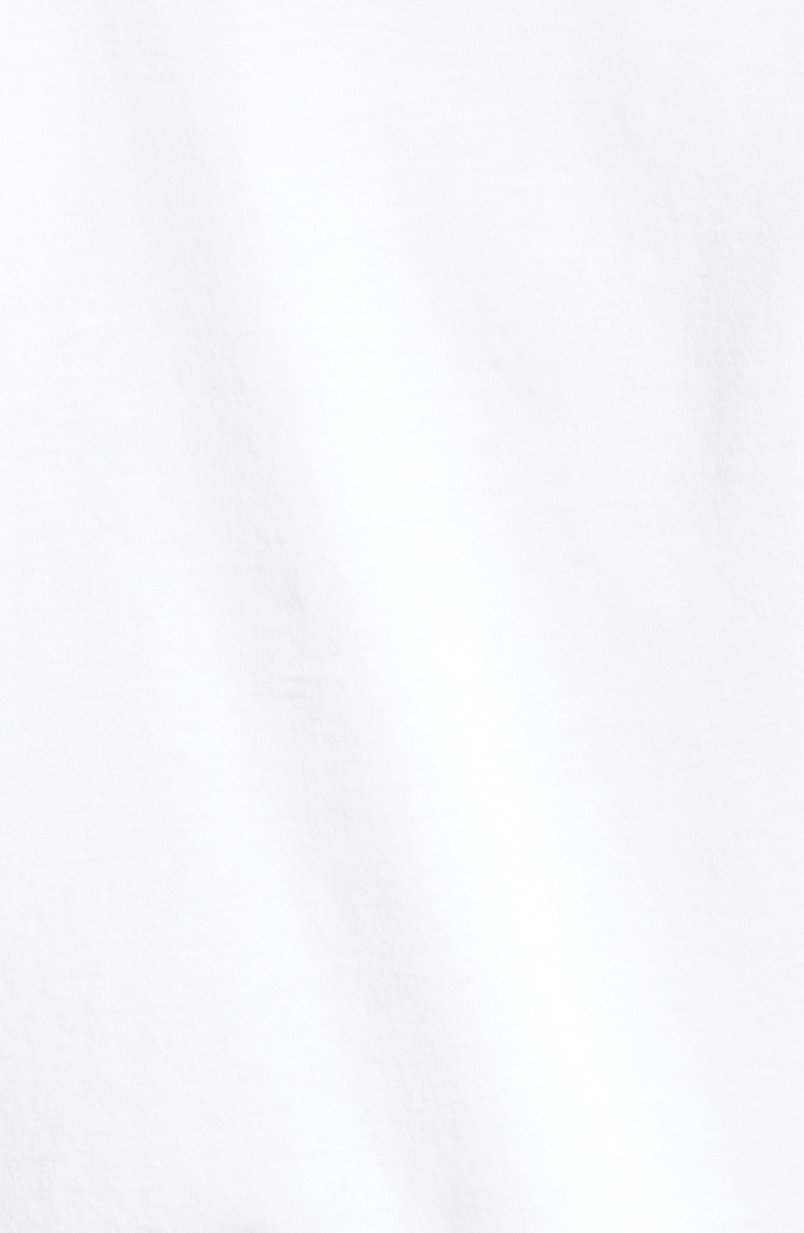 Sketch Screenprint T-Shirt,                             Alternate thumbnail 5, color,                             White