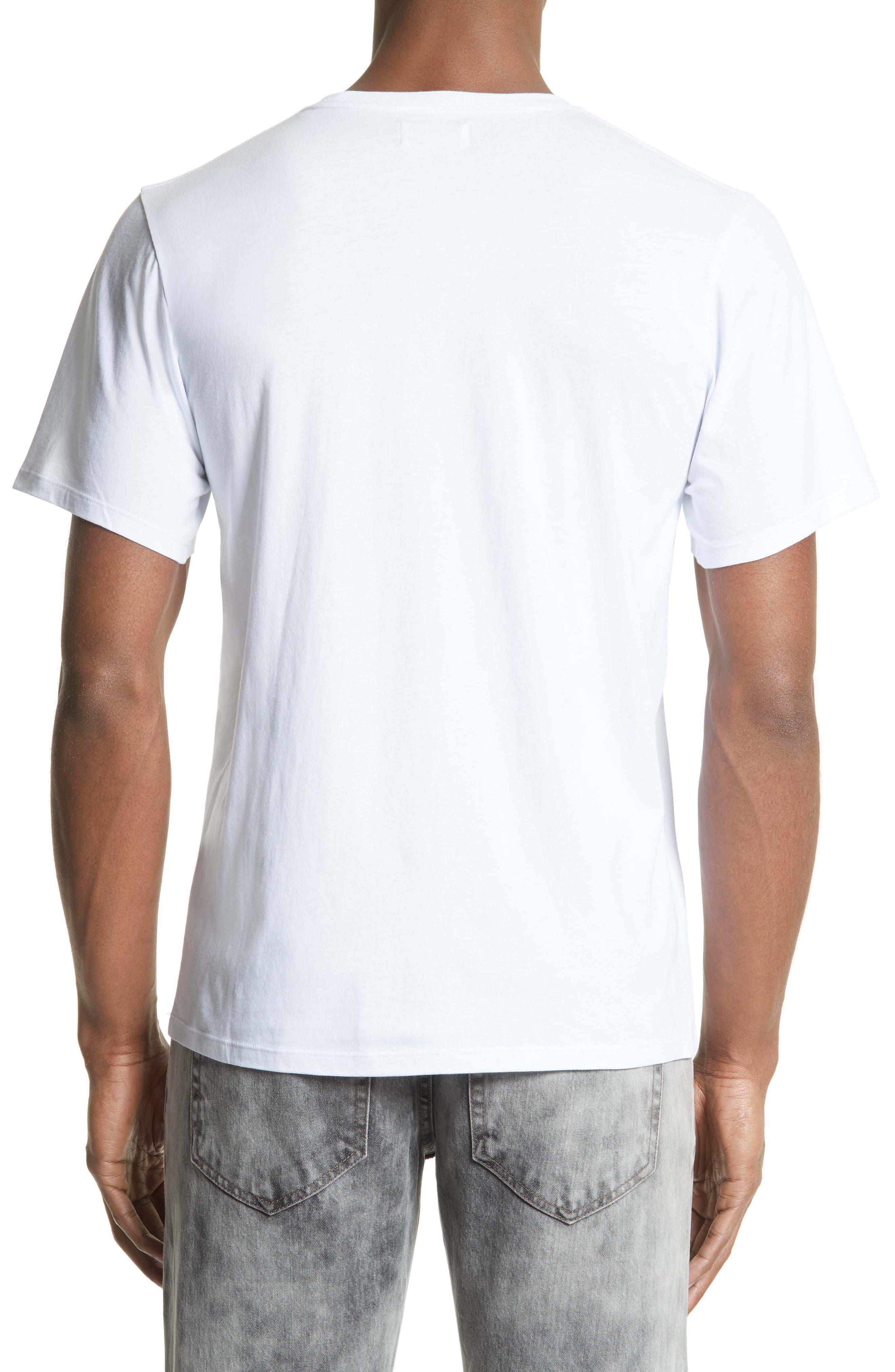 T-Shirt,                             Alternate thumbnail 2, color,                             White