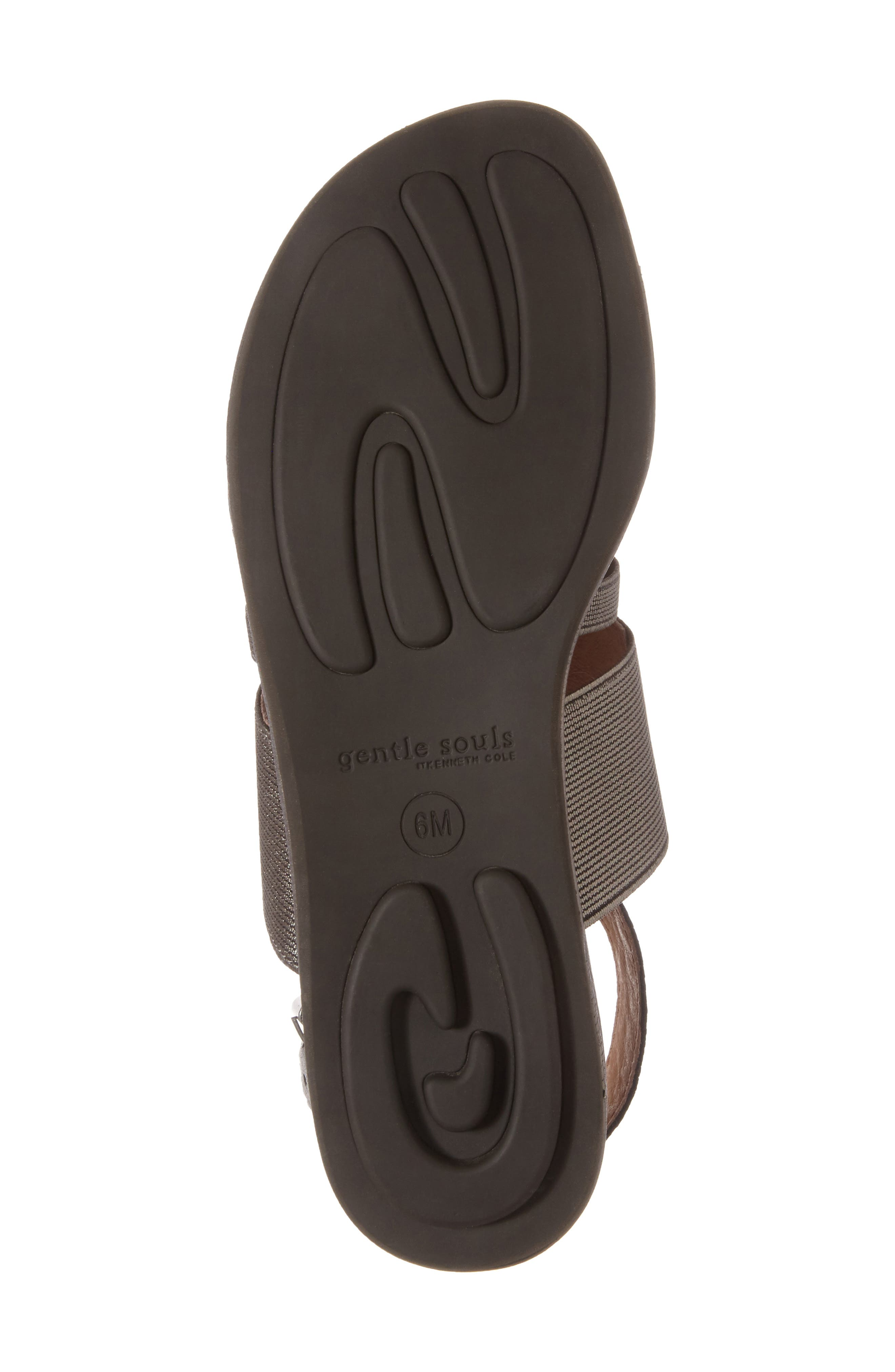 by Kenneth Cole Ophelia Sandal,                             Alternate thumbnail 6, color,                             Pewter Leather