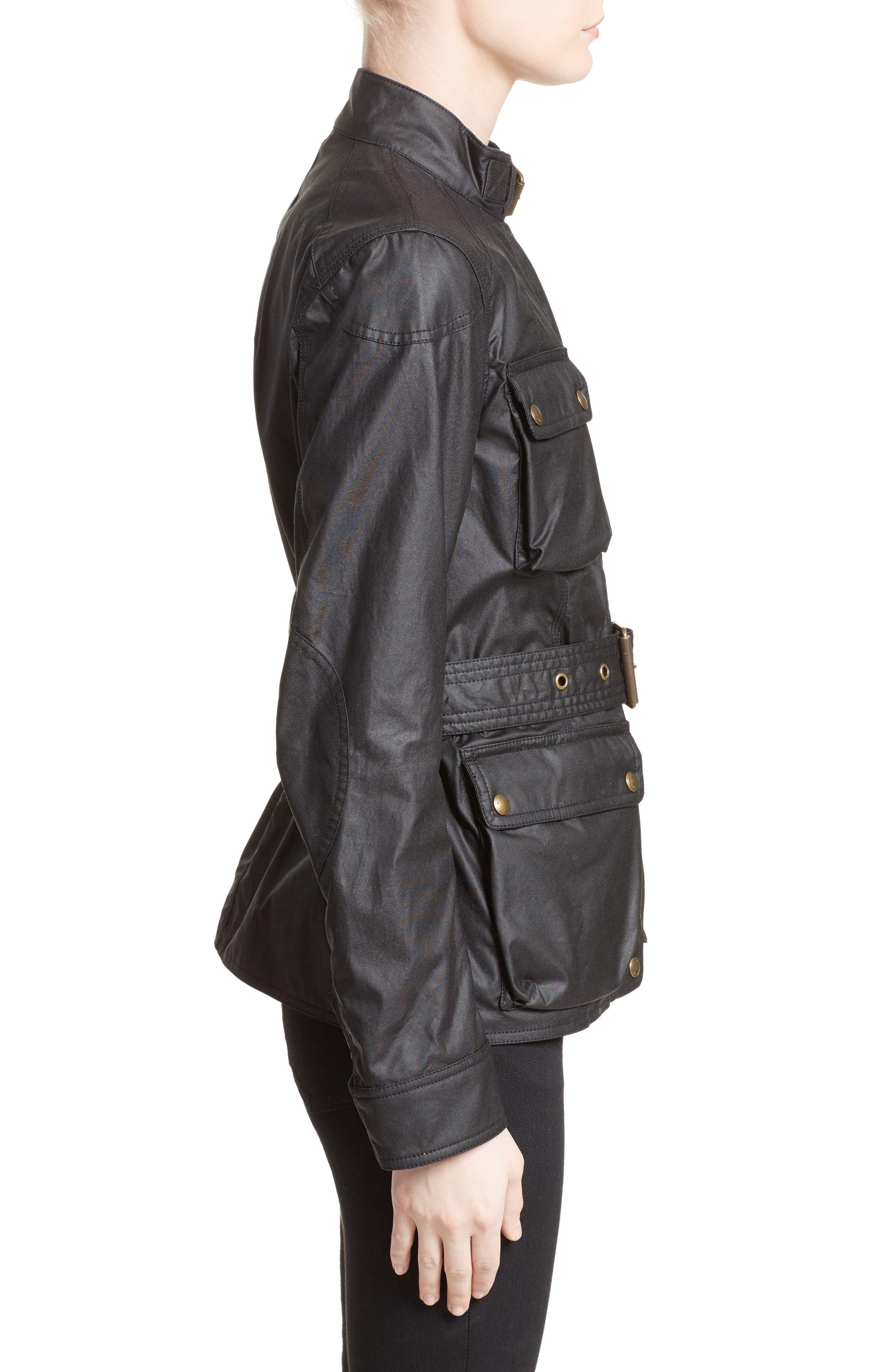 Alternate Image 5  - Belstaff 'Roadmaster' Waxed Cotton Coat