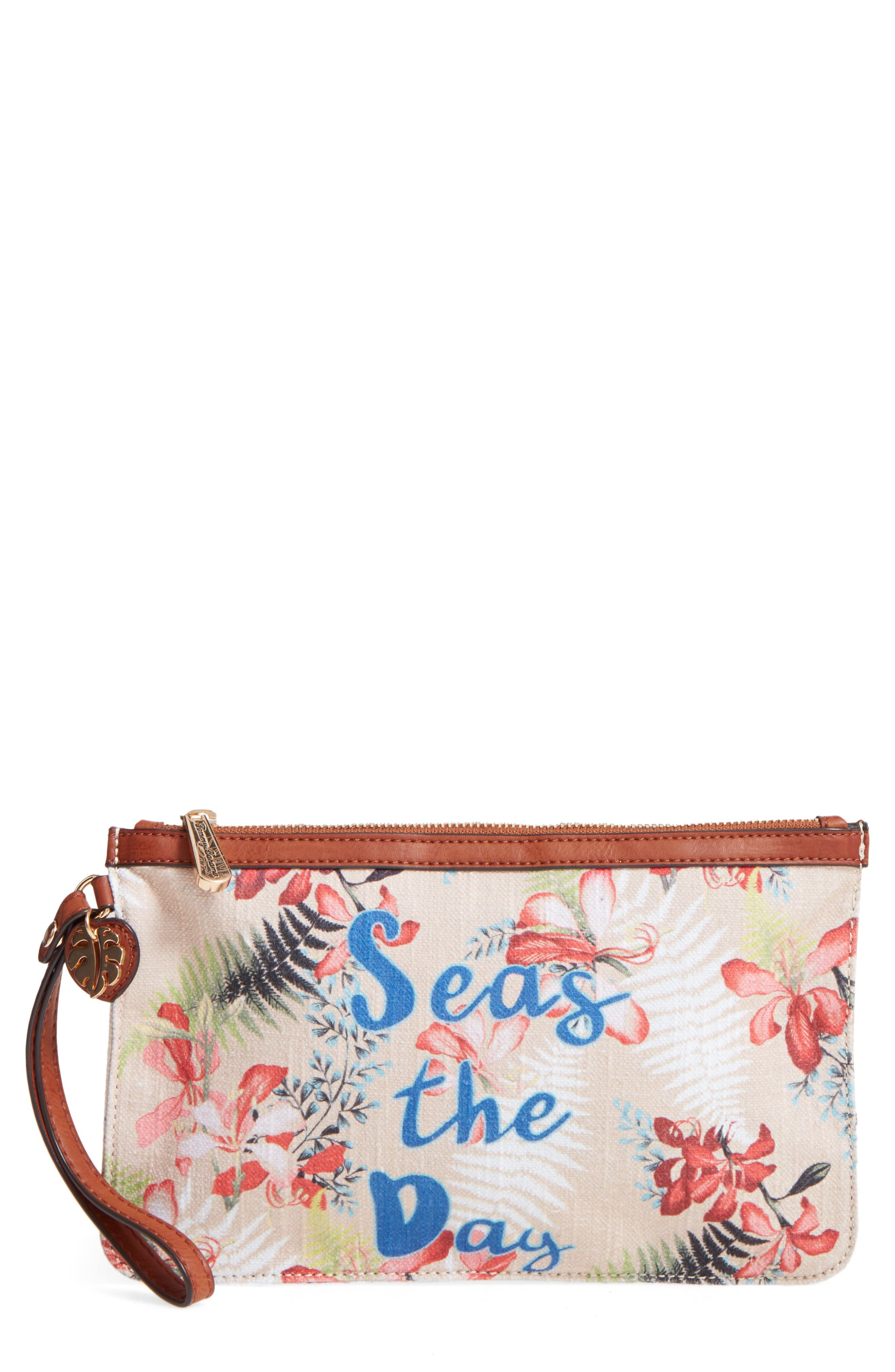 Alternate Image 1 Selected - Tommy Bahama Boca Chica Beach Wristlet