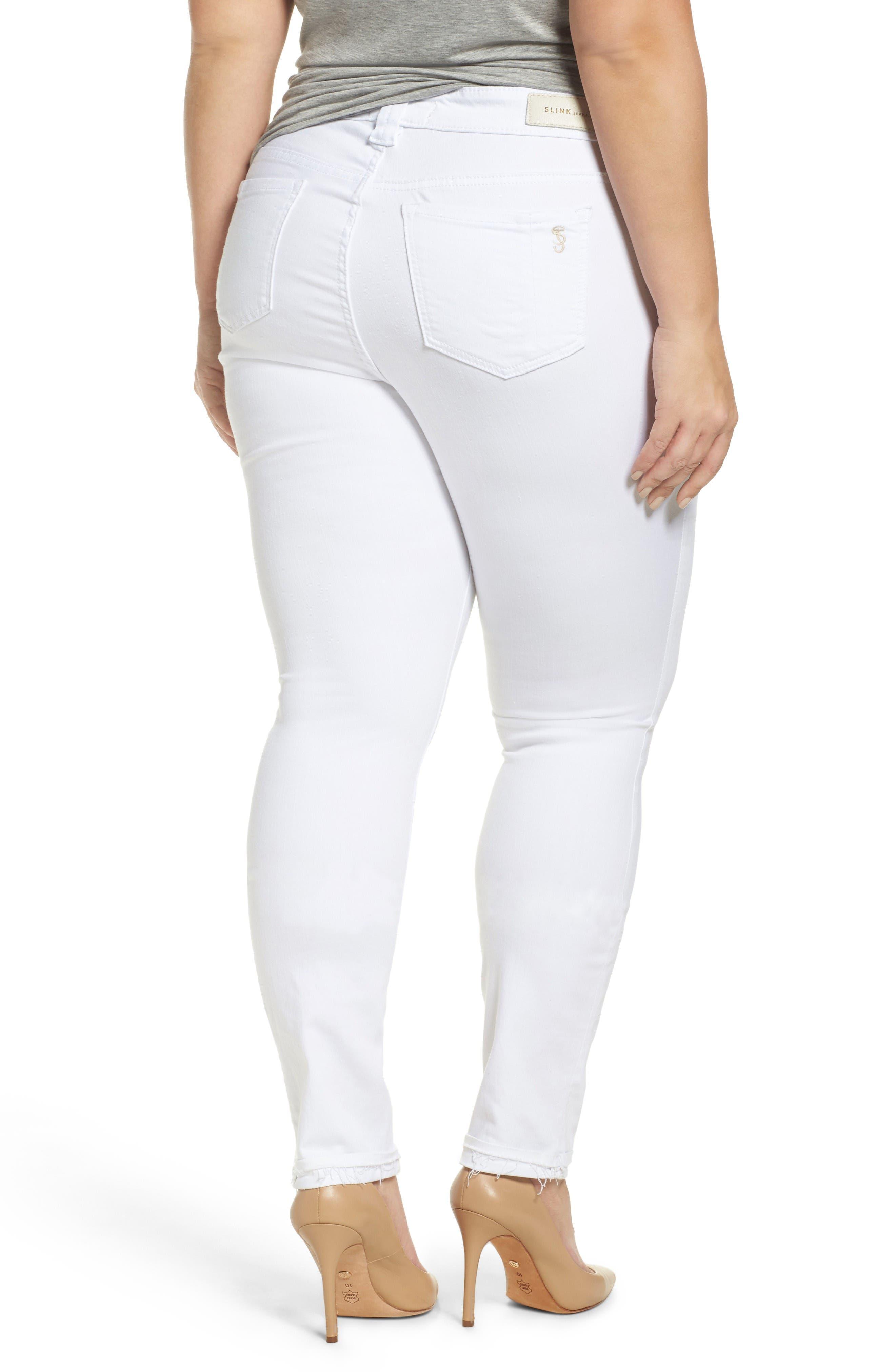 Release Hem Skinny Jeans,                             Alternate thumbnail 2, color,                             Lexy