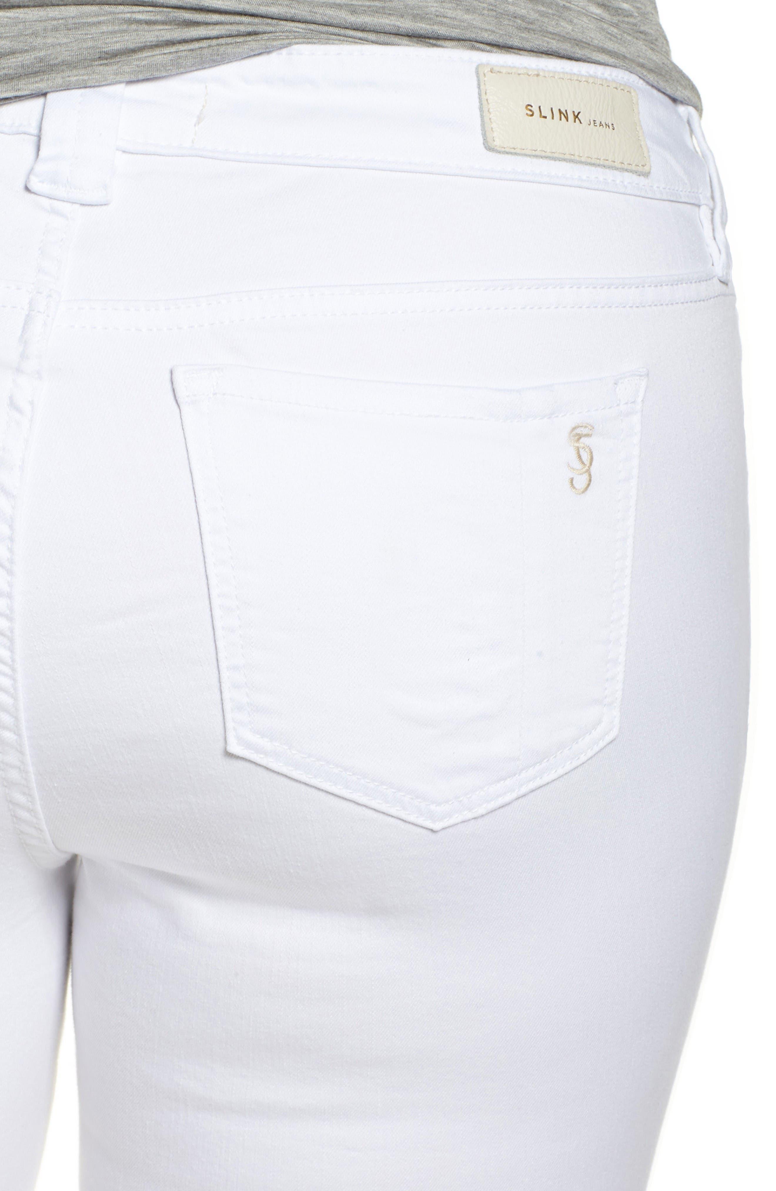 Release Hem Skinny Jeans,                             Alternate thumbnail 4, color,                             Lexy