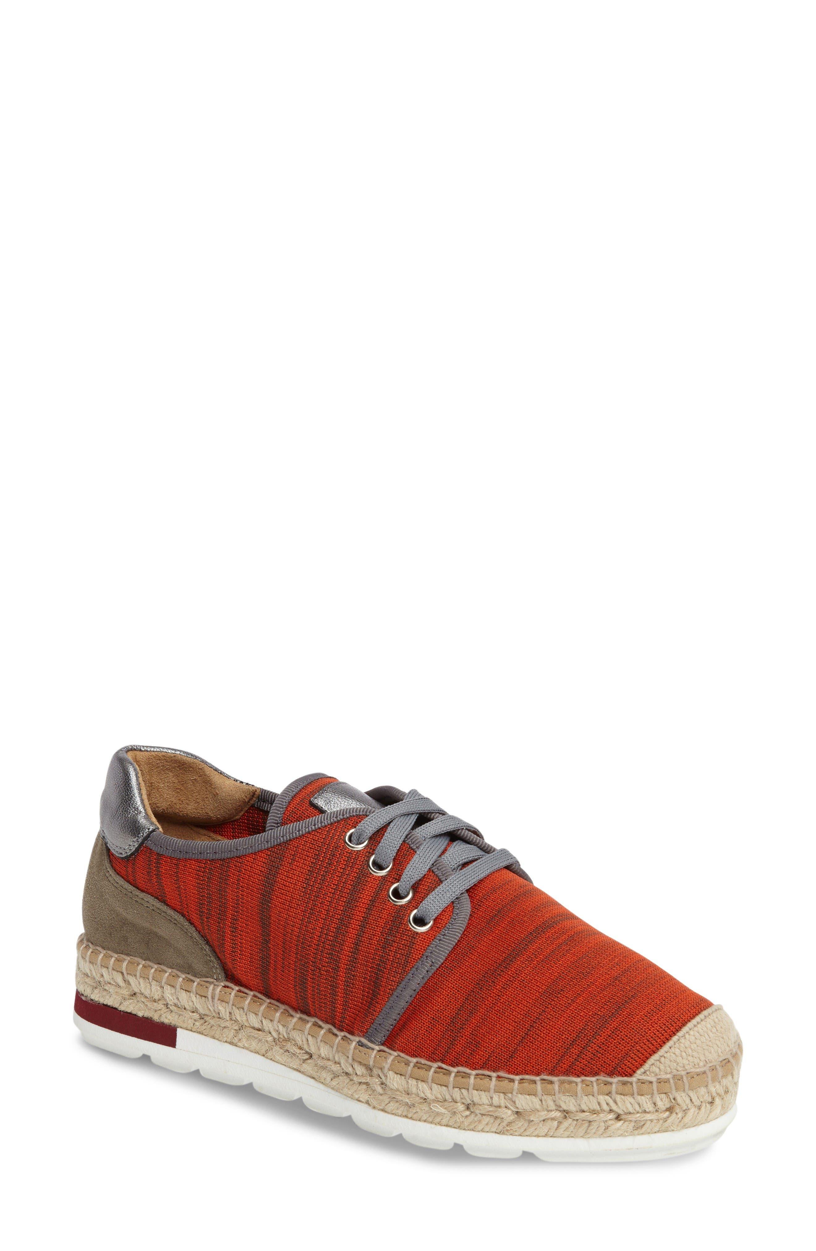 Alternate Image 1 Selected - Bettye Muller Newport Mesh Espadrille Sneaker (Women)