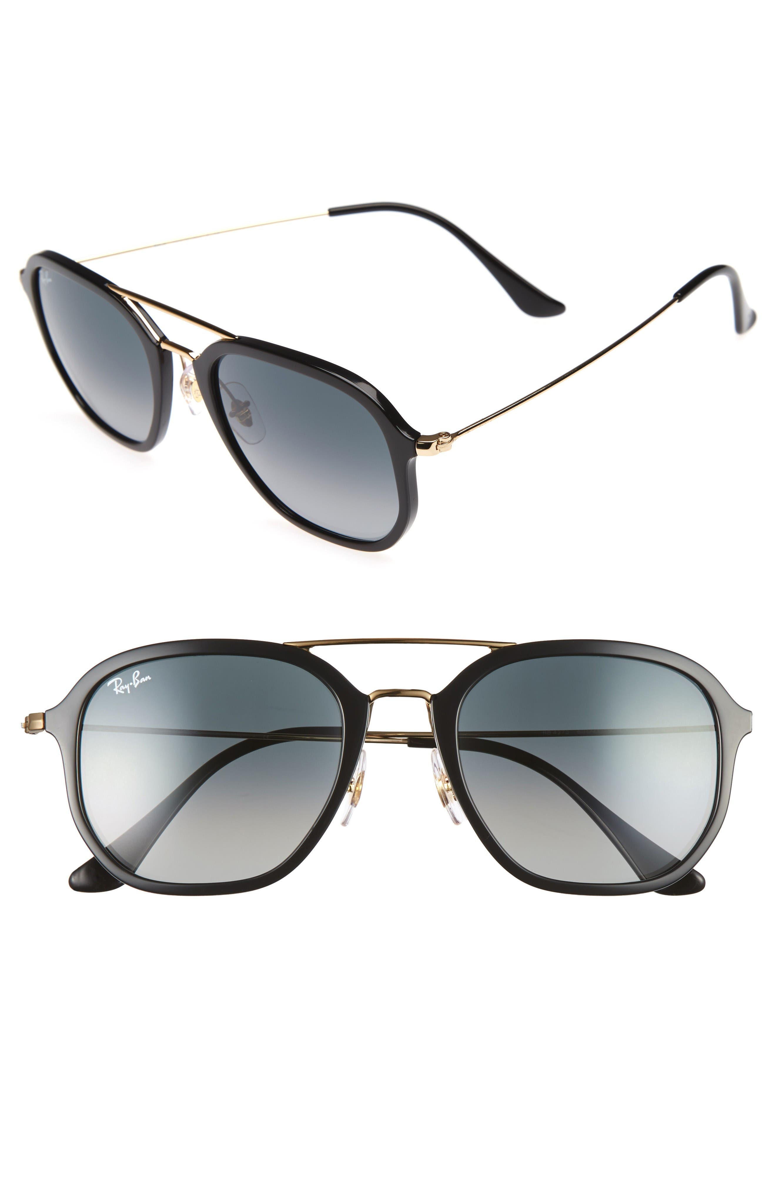 Alternate Image 1 Selected - Ray-Ban 52mm Square Sunglasses