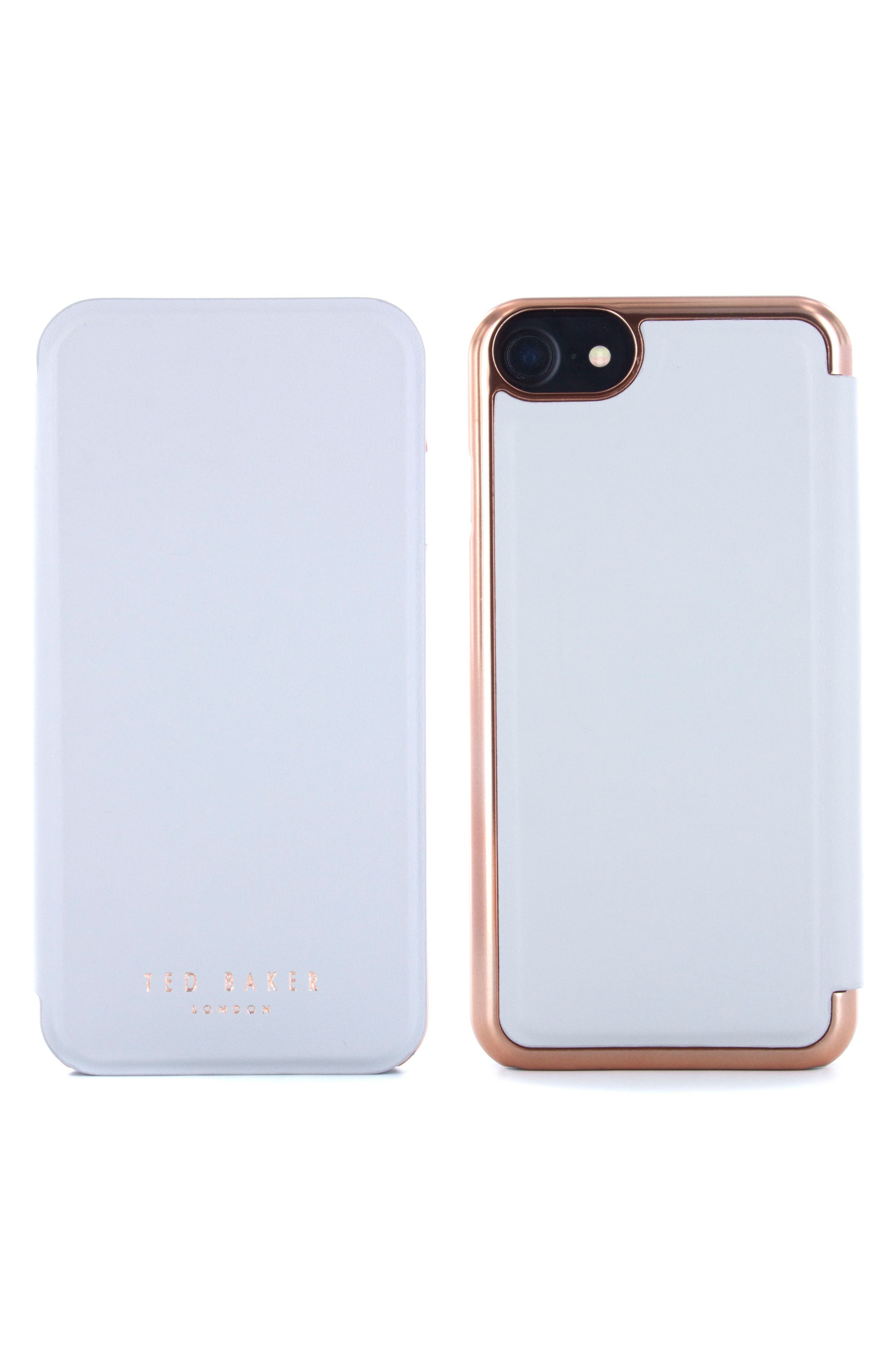 Alternate Image 2  - Ted Baker London Shannon iPhone 6/6s/7/8 & 6/6s/7/8 Plus Mirror Folio Case
