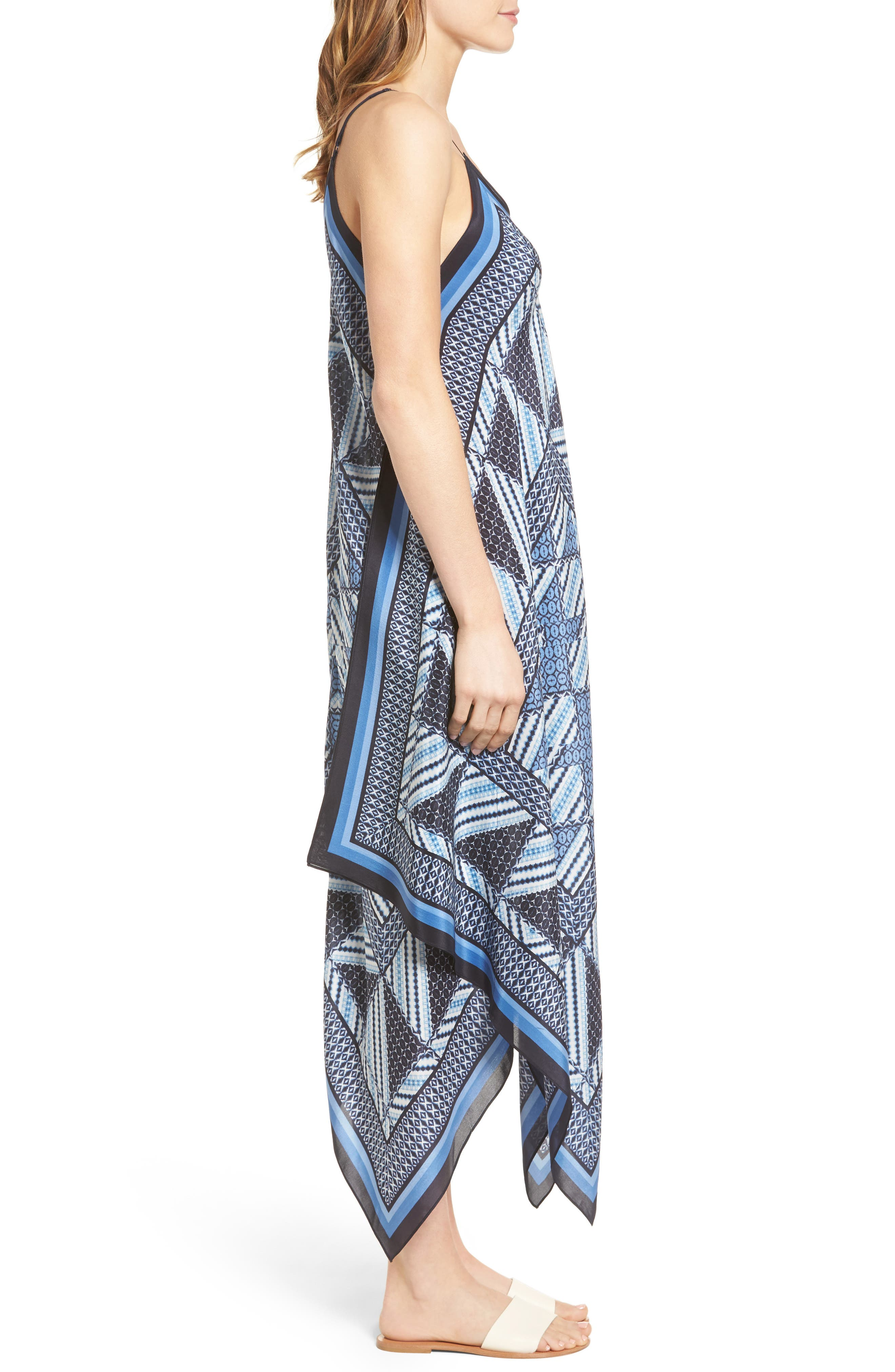 Alternate Image 3  - NIC+ZOE Calypso Silk Blend Maxi Dress (Regular & Petite)