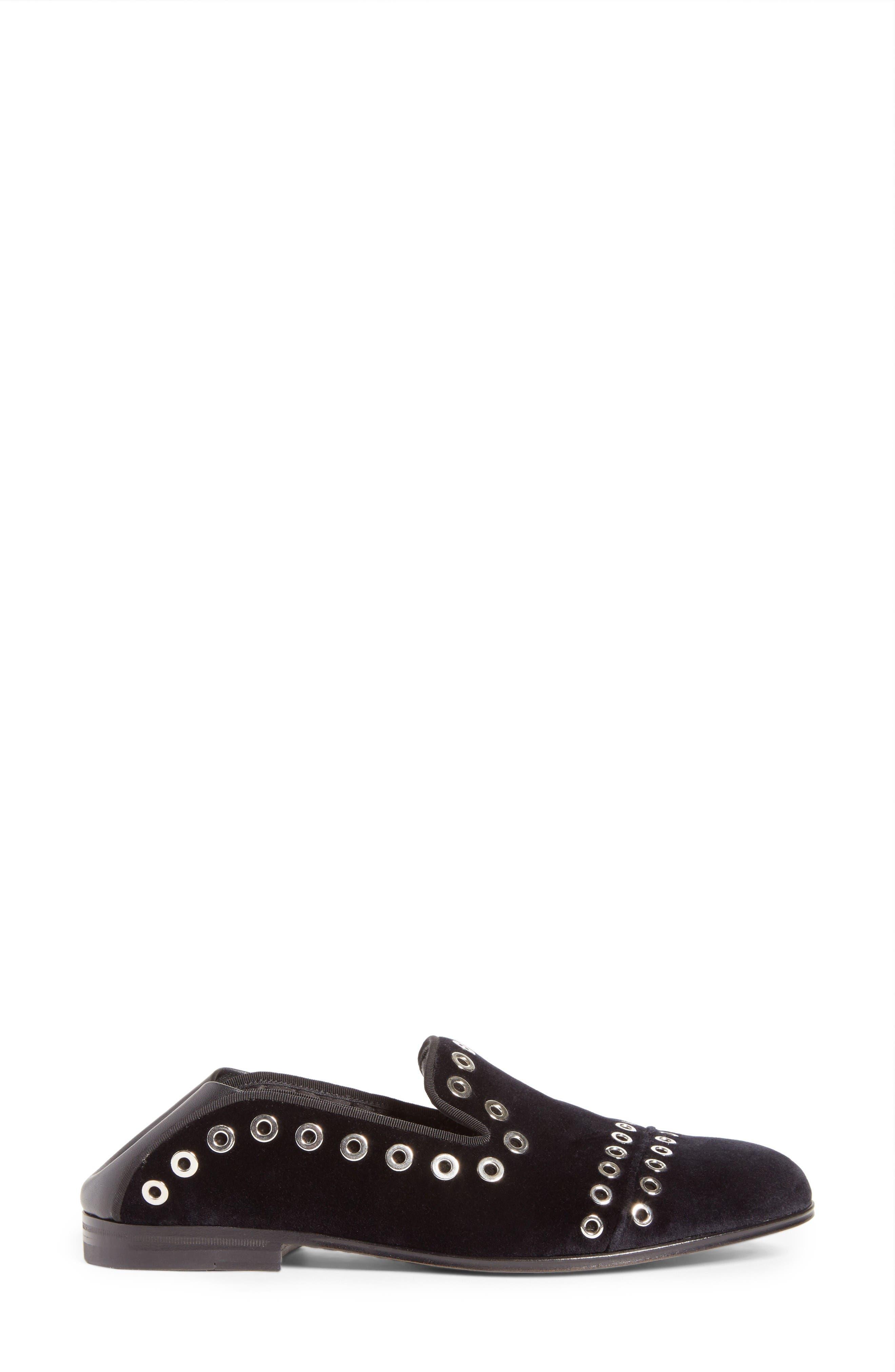 Alternate Image 2  - Alexander McQueen Grommet Convertible Loafer (Women)