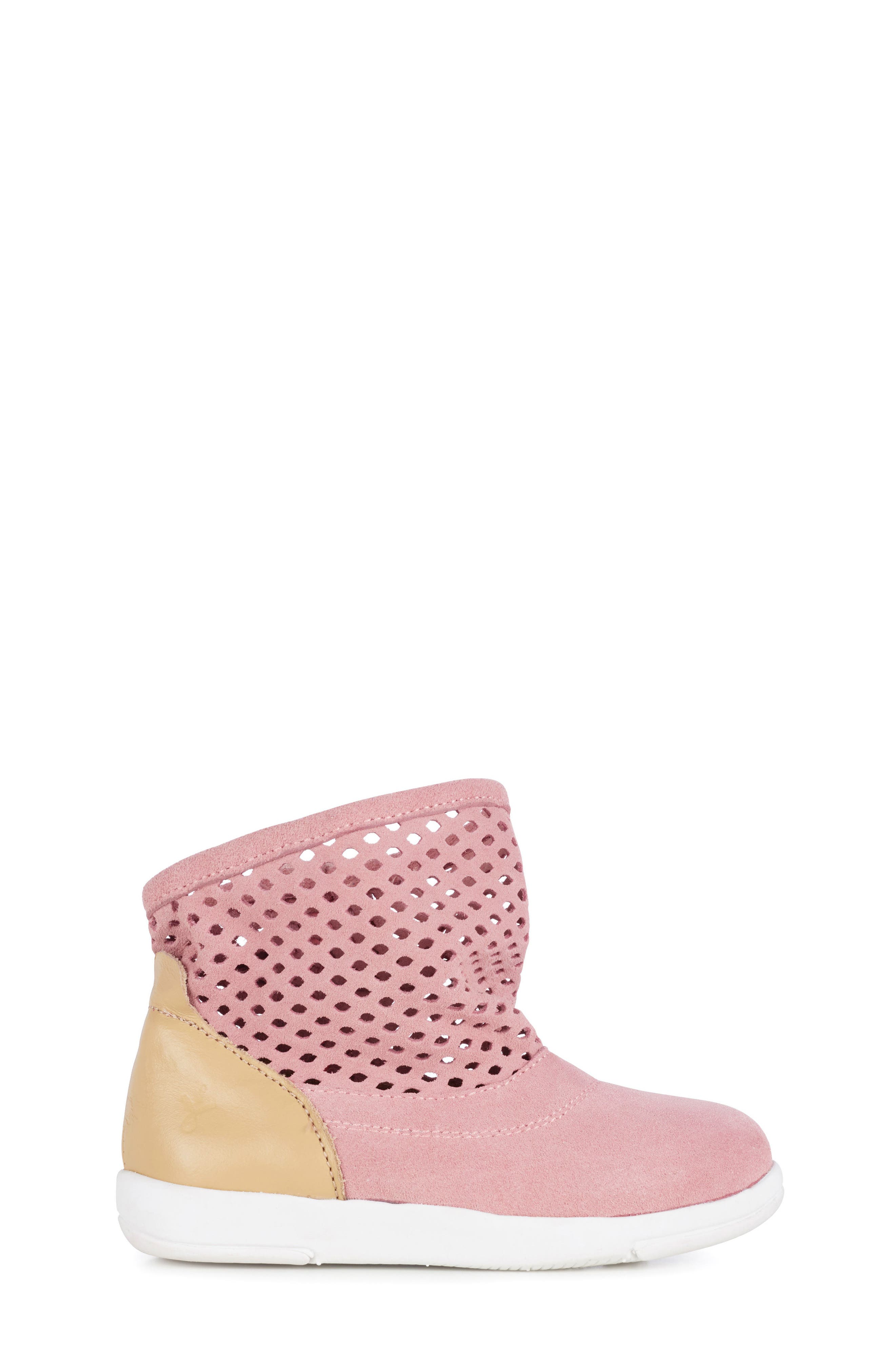 Numeralla Boot,                             Alternate thumbnail 3, color,                             Pale Pink Suede
