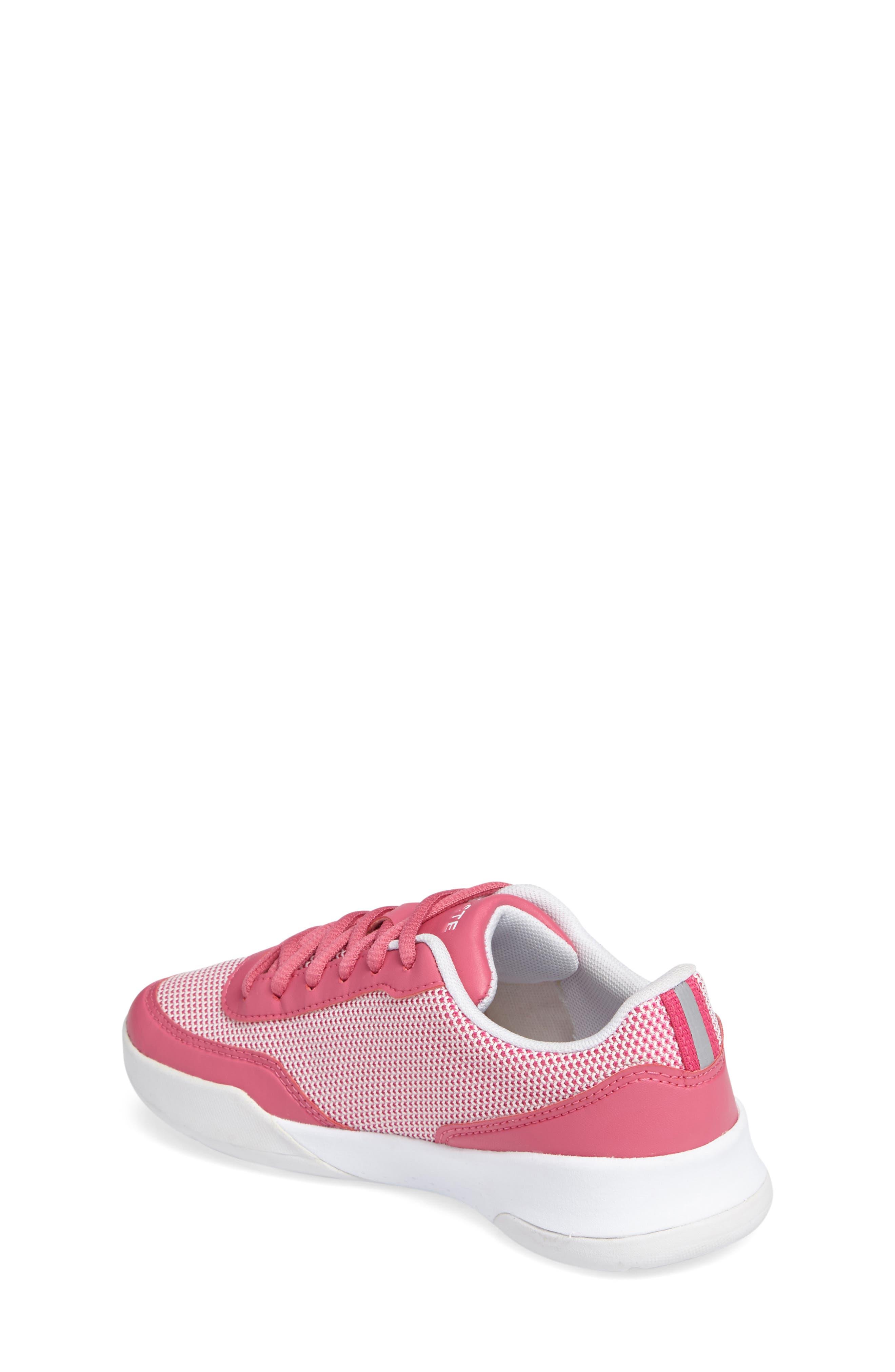 LT Spirit Woven Sneaker,                             Alternate thumbnail 2, color,                             Pink/ White