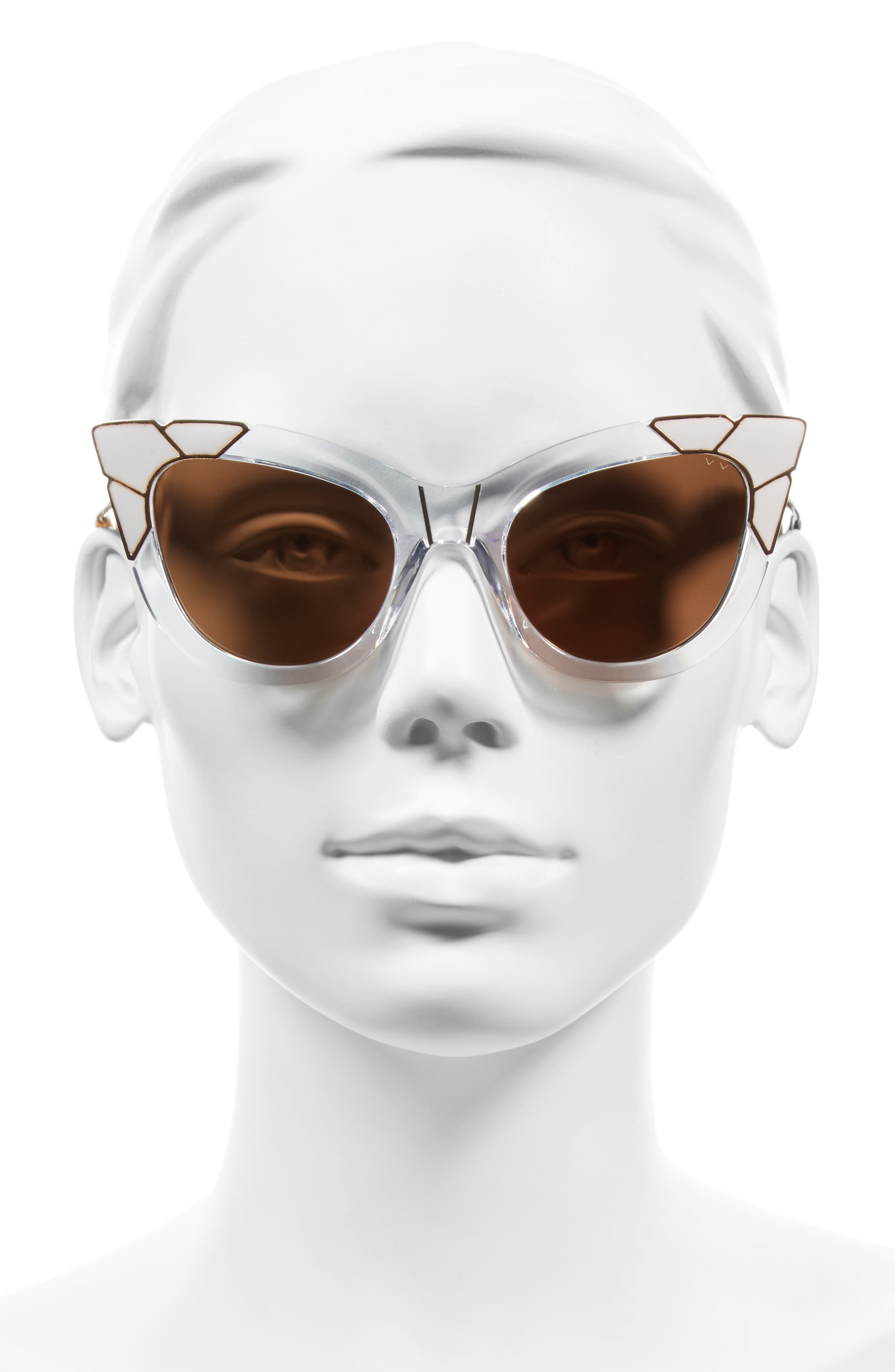 Alternate Image 2  - Pared Puss & Boots 49mm Cat Eye Sunglasses
