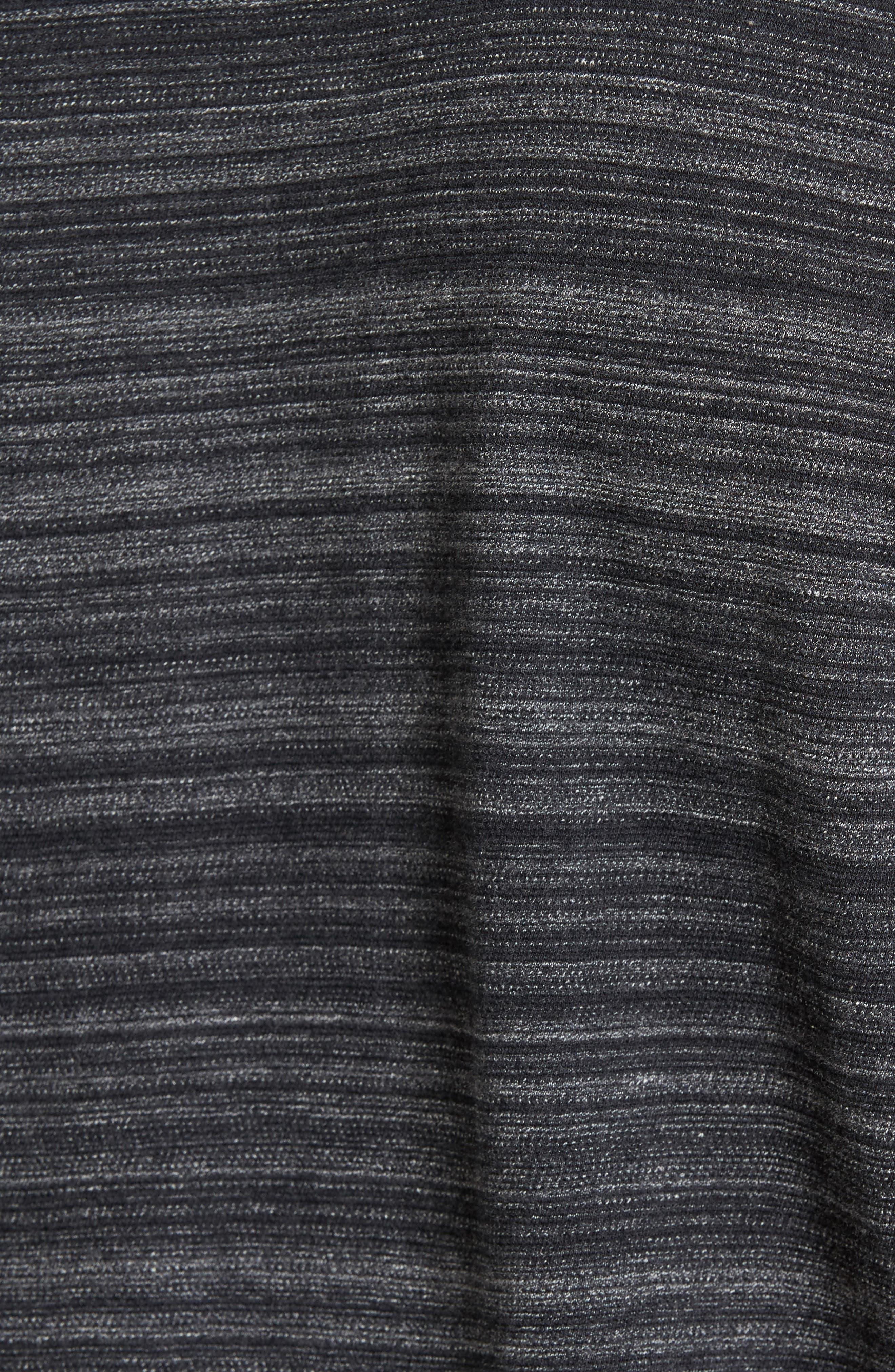 Cotton Polo,                             Alternate thumbnail 6, color,                             Black
