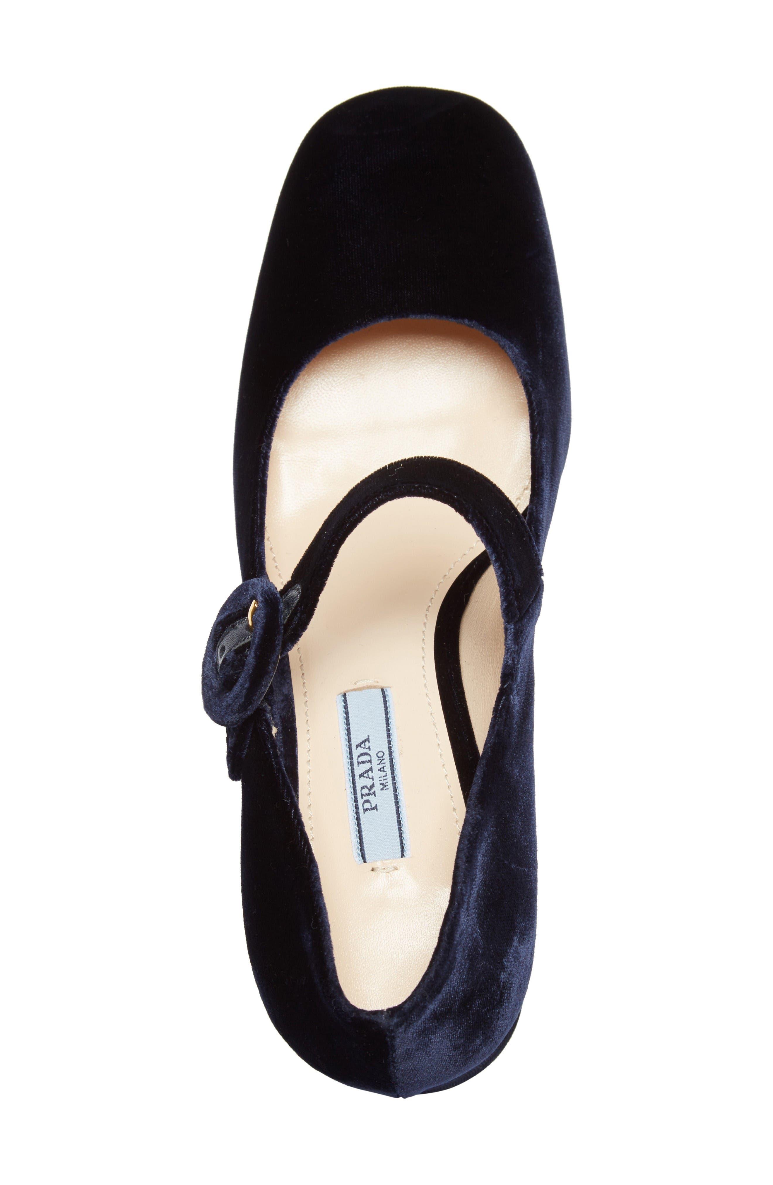 Alternate Image 3  - Prada Block Heel Mary Jane Pump (Women)