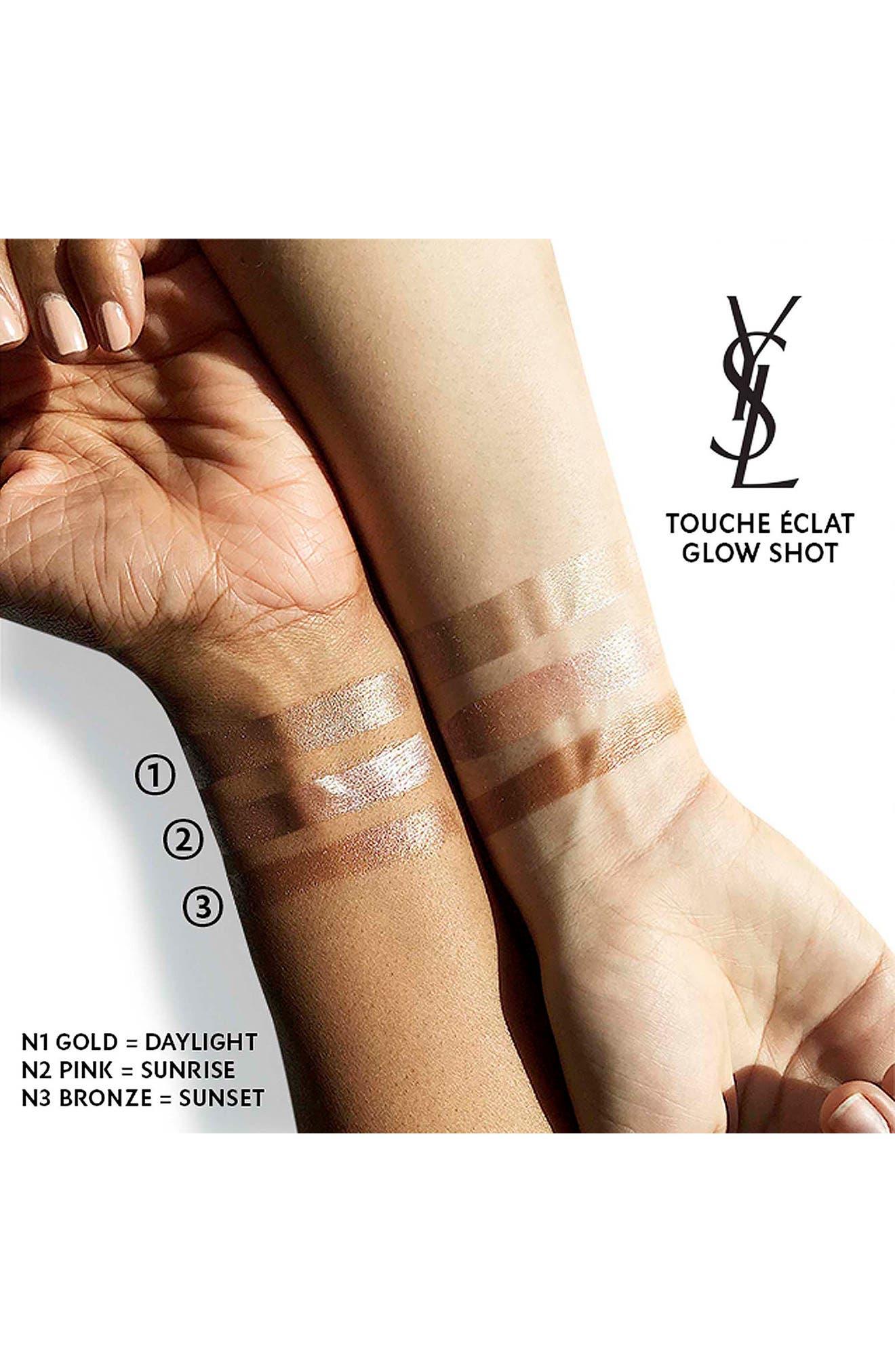 Alternate Image 5  - Yves Saint Laurent Touche Éclat Glow Shot Liquid Highlighter