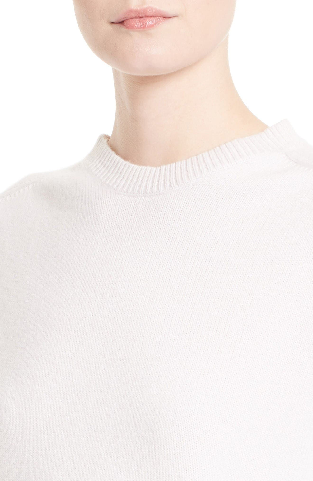 Cashmere Sweater,                             Alternate thumbnail 5, color,                             Butter